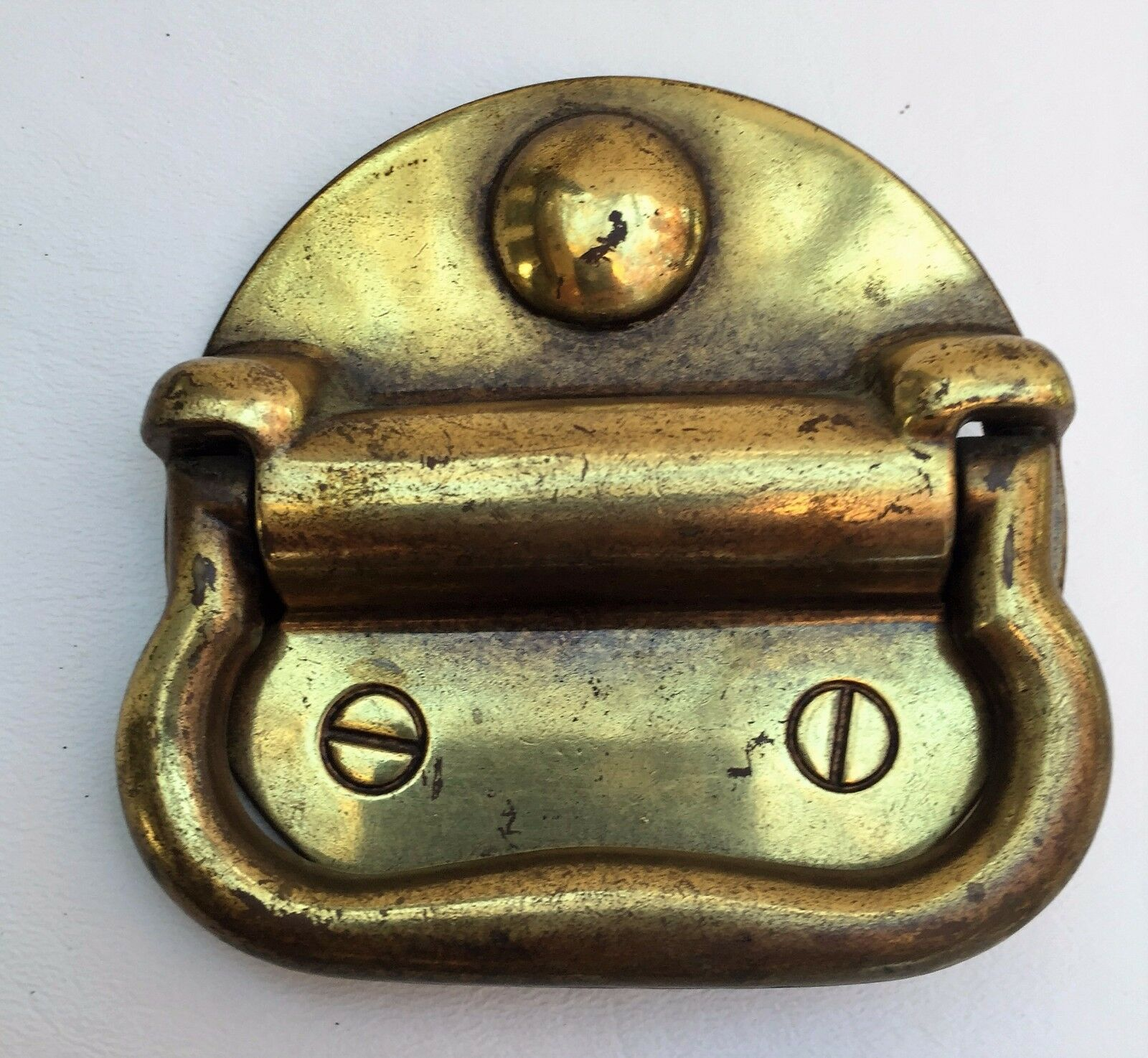 Arts & Crafts Hardware Drawer Pull  Antique Furniture Trunk Lifts Chest Handle