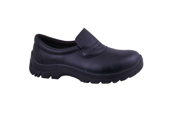 slip on safety shoes high slip resistance for catering