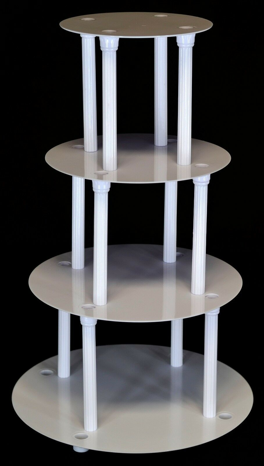 Tier Wedding Cake Stand Separator And Pillar Set