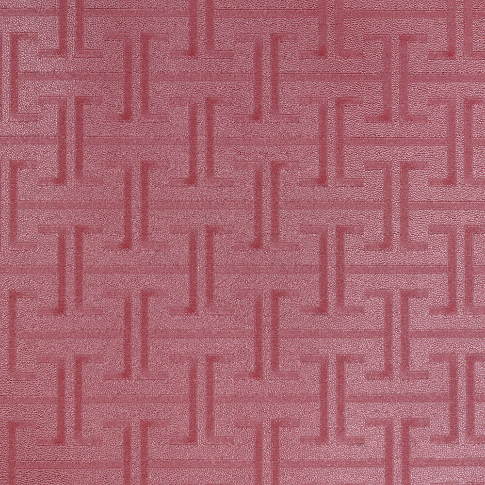 Textured washable red leather vinyl wallpaper 10m roll for Washable wallpaper