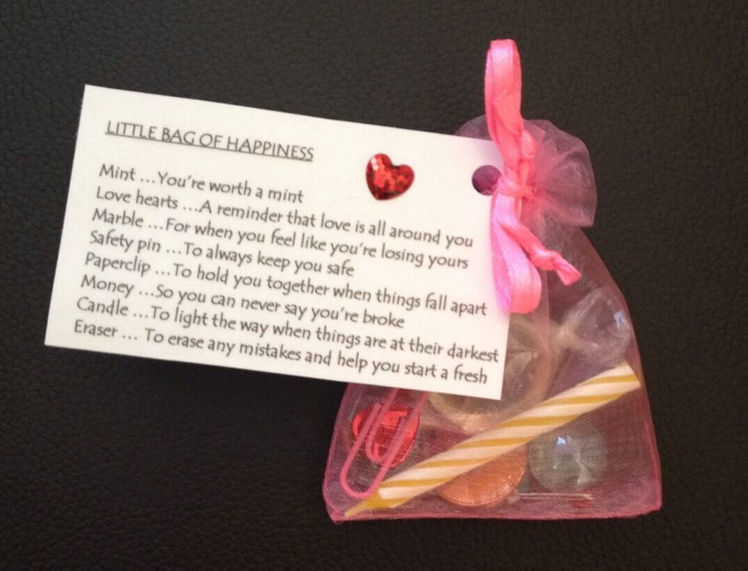 Bag Of Happiness 16th 18th 21st 30th 40th 50th 60th 65th Birthday Gift Him Her 1 6FREE Shipping See More