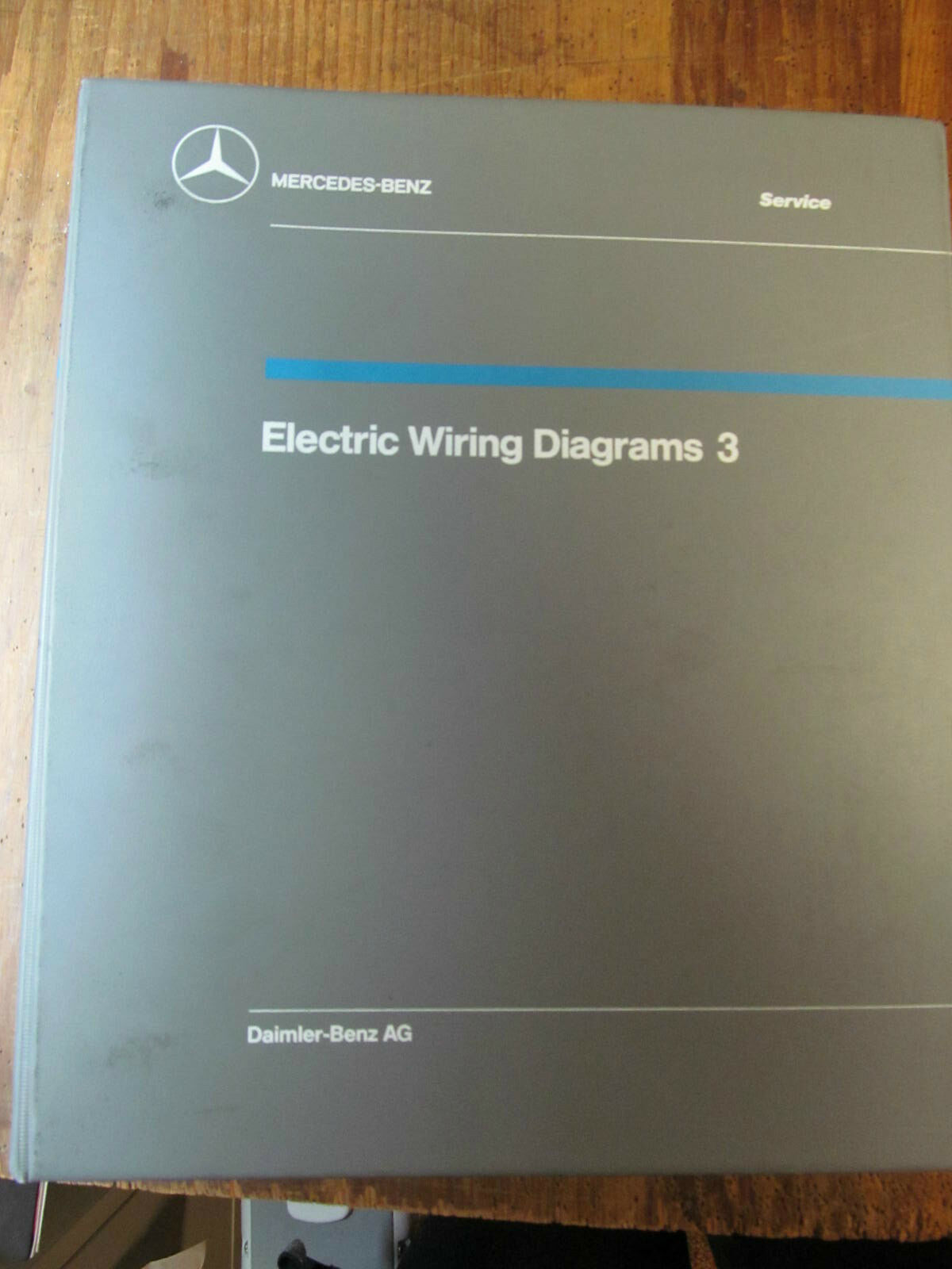 Mercedes Wiring Diagram Vol 3 12499 Picclick Lincoln 300d 1 Of 2only Available