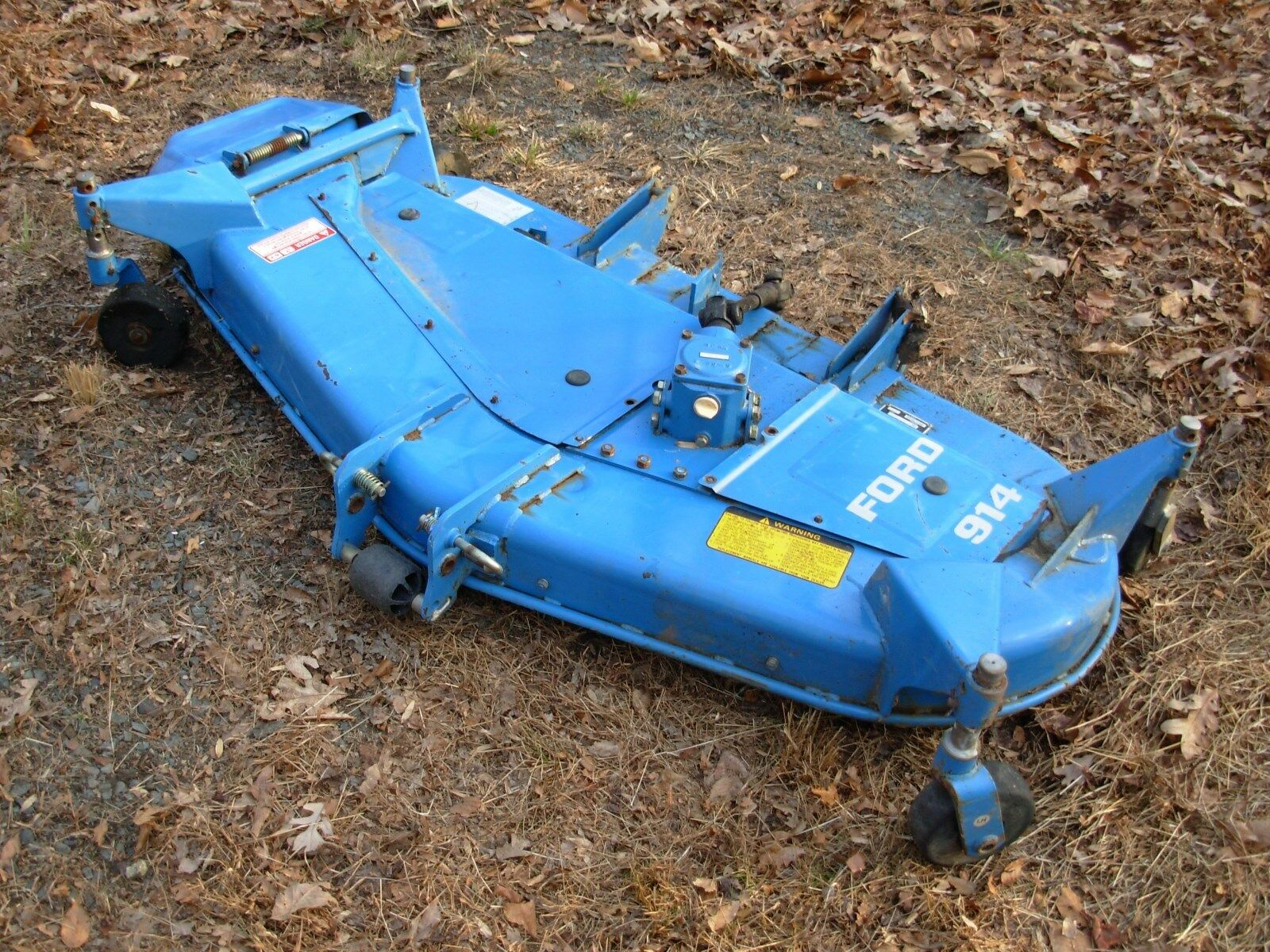 Ford 914 Mower Blades : Ford new holland mower deck