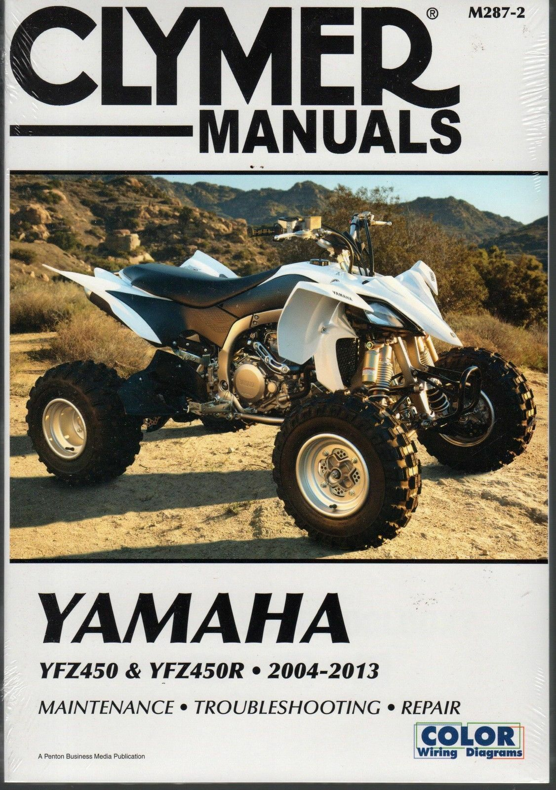 Clymer Yamaha Yfz450 Yfz 450 Service Repair Manual Free Ship 1 of 2FREE  Shipping ...