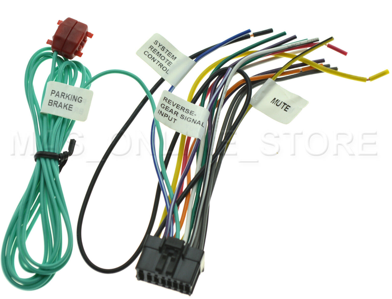 Wire Harness For Pioneer Avh P4000dvd Avhp4000dvd Pay Today Ships How To 8200 1 Of 2free Shipping