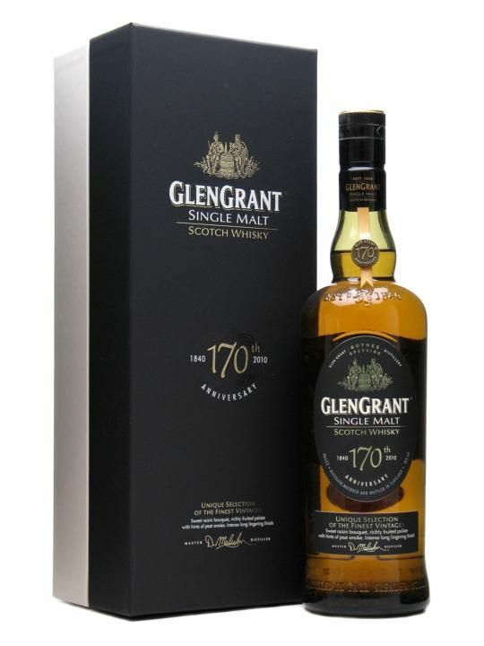 Glen Grant 170th Anniversary Speyside Single Malt Scotch Whisky 700ml