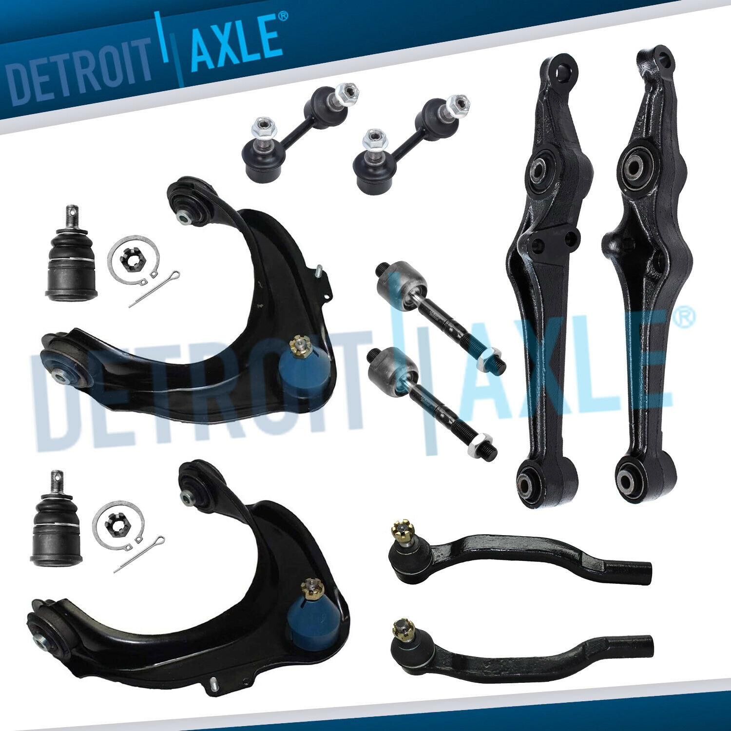 1999-2003 Acura CL TL Front Control Arm Ball Joint TieRod Sway Bar Link Kit  1 of 7FREE Shipping ...
