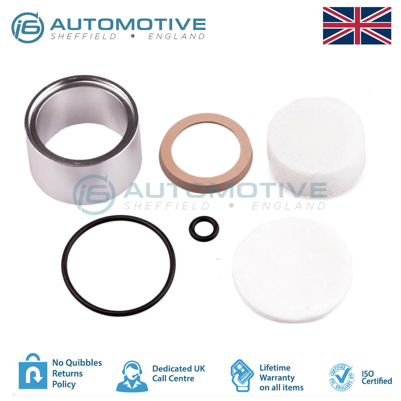 range rover p38 eas air suspension compressor piston liner seal repair fix kit eur 12 73. Black Bedroom Furniture Sets. Home Design Ideas