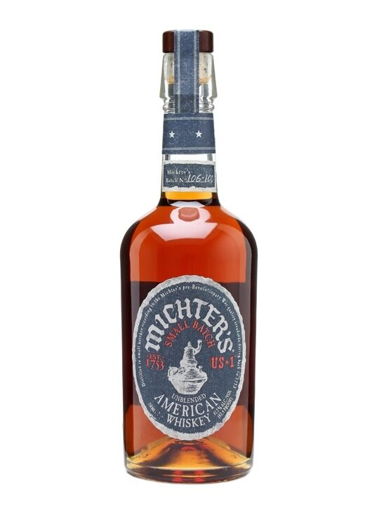 Michters US 1 Small Batch Unblended American Whiskey 700ml