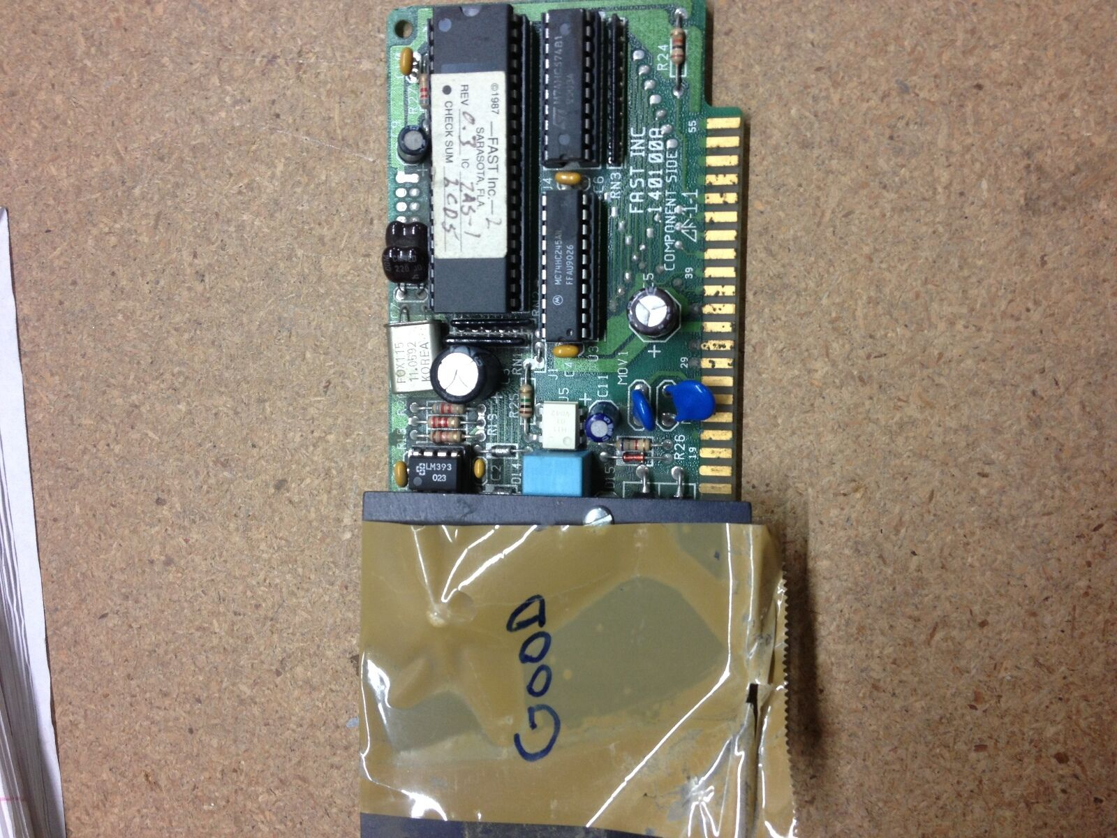 140100a Fast Inc Circuit Board 12500 Picclick How To Check A 1 Of 1only Available