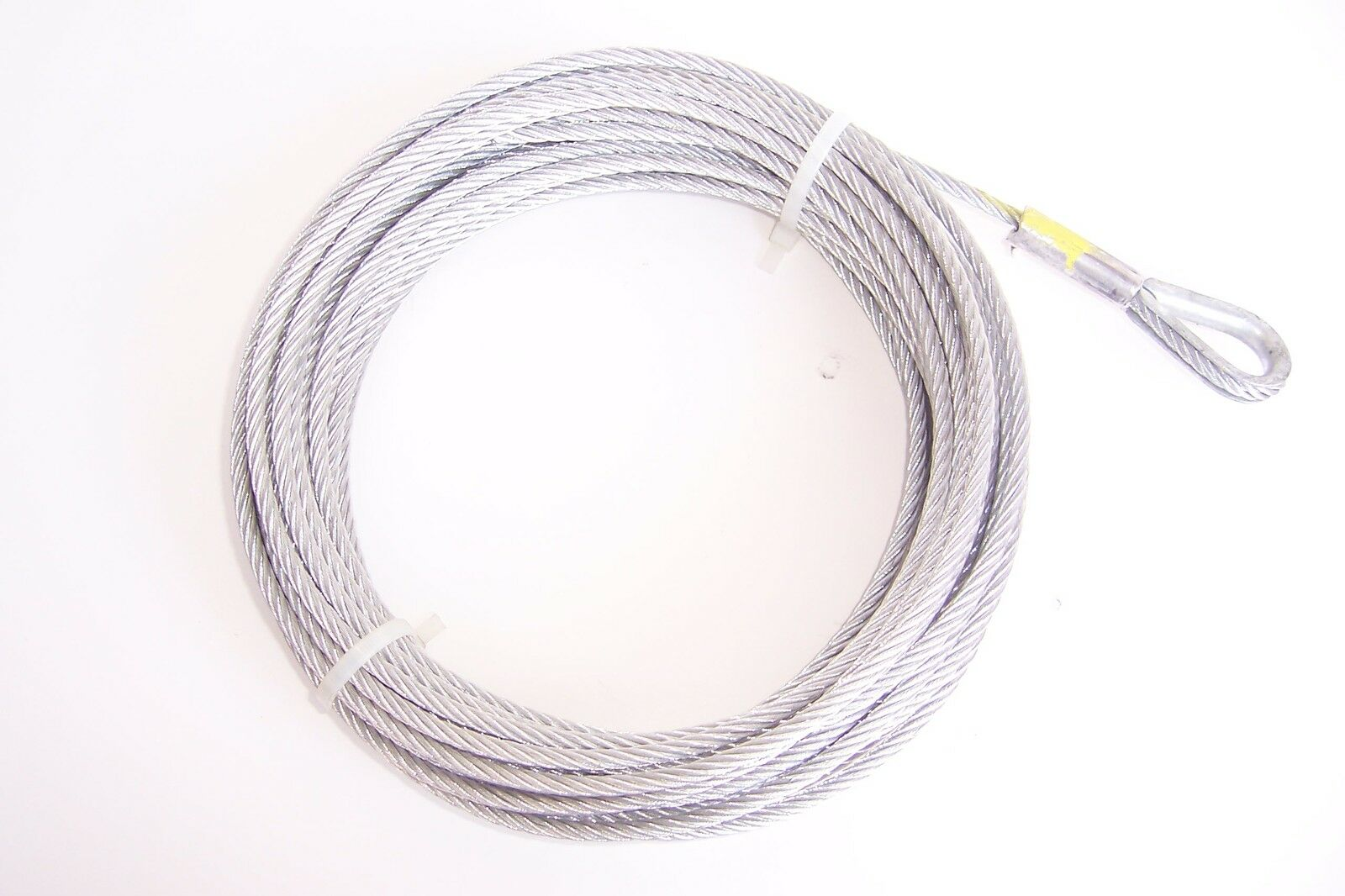 3 16 Quot X 50 Ft Galvanized Wire Rope Winch Cable 15 95