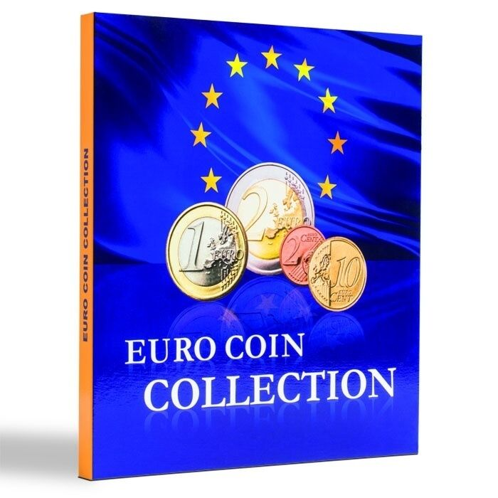 the new euro coin collection album for 26 countries chf picclick ch. Black Bedroom Furniture Sets. Home Design Ideas