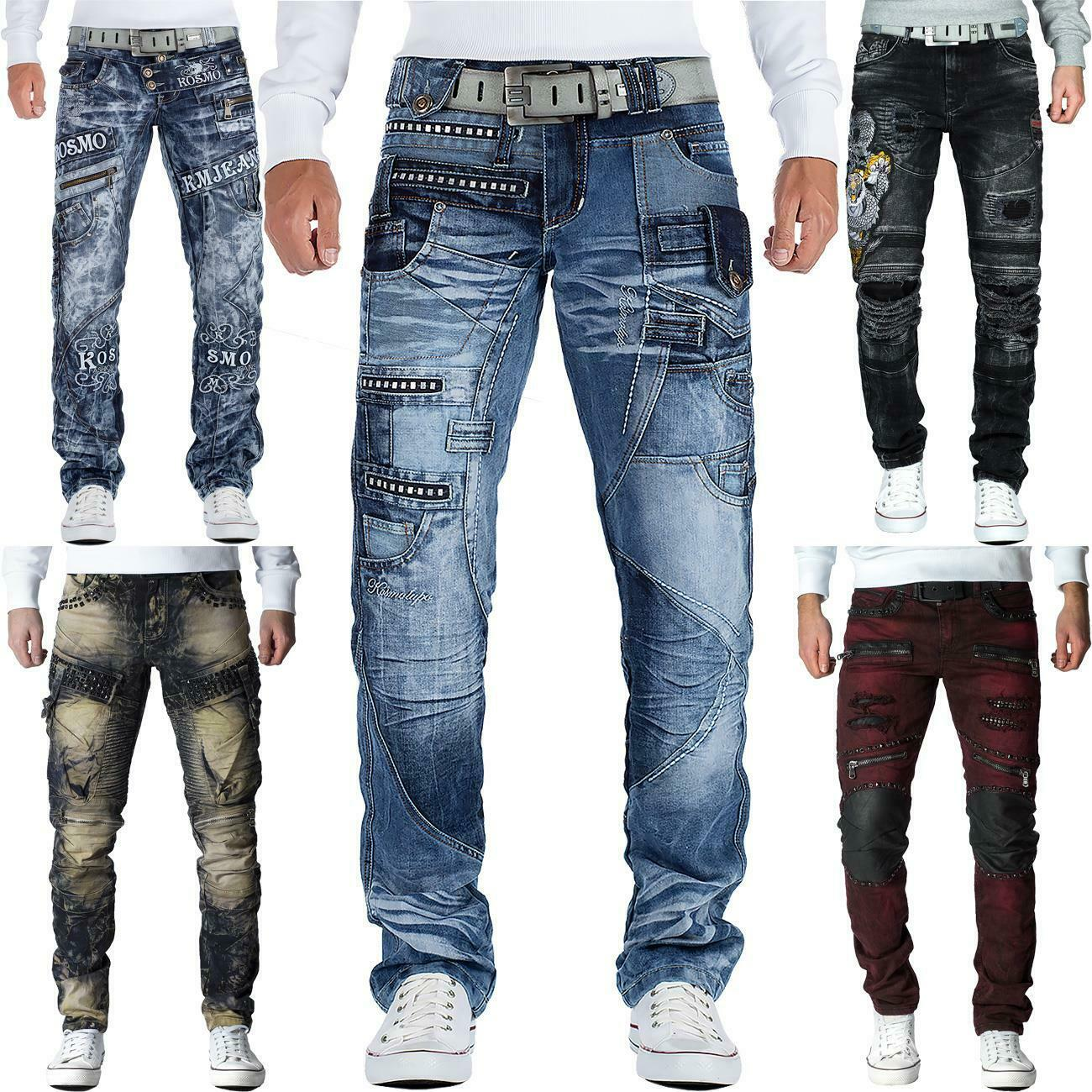 herren jeans hose mens pants cargo straight fit denim vintage top mod marken eur 29 90. Black Bedroom Furniture Sets. Home Design Ideas