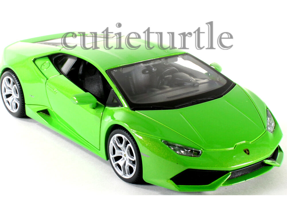 maisto lamborghini huracan lp 610 4 1 24 diecast model car green. Black Bedroom Furniture Sets. Home Design Ideas