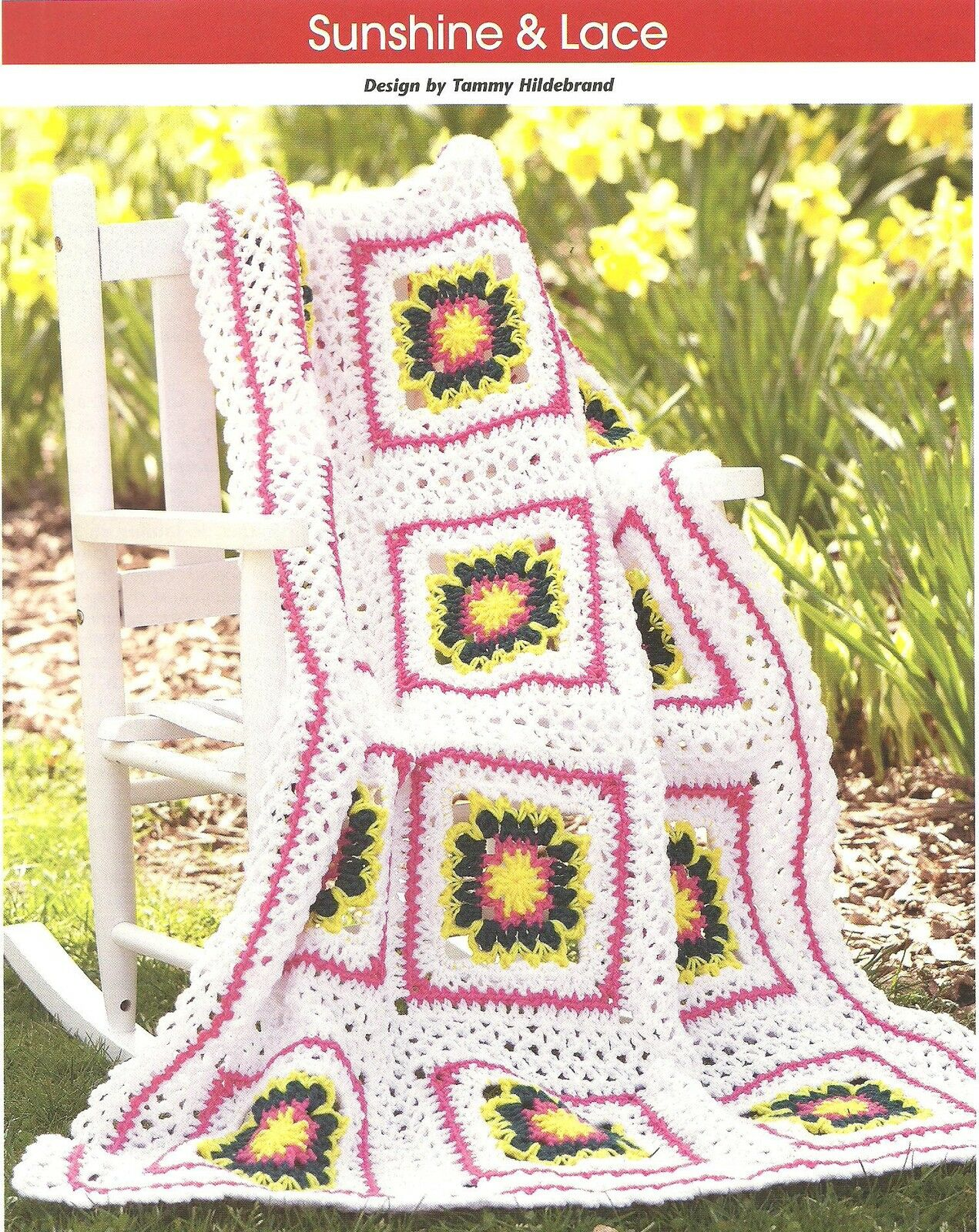 Crochet Patterns With Instructions : Sunshine & Lace Afghan crochet PATTERN INSTRUCTIONS ? $2.99 1 of 1 ...