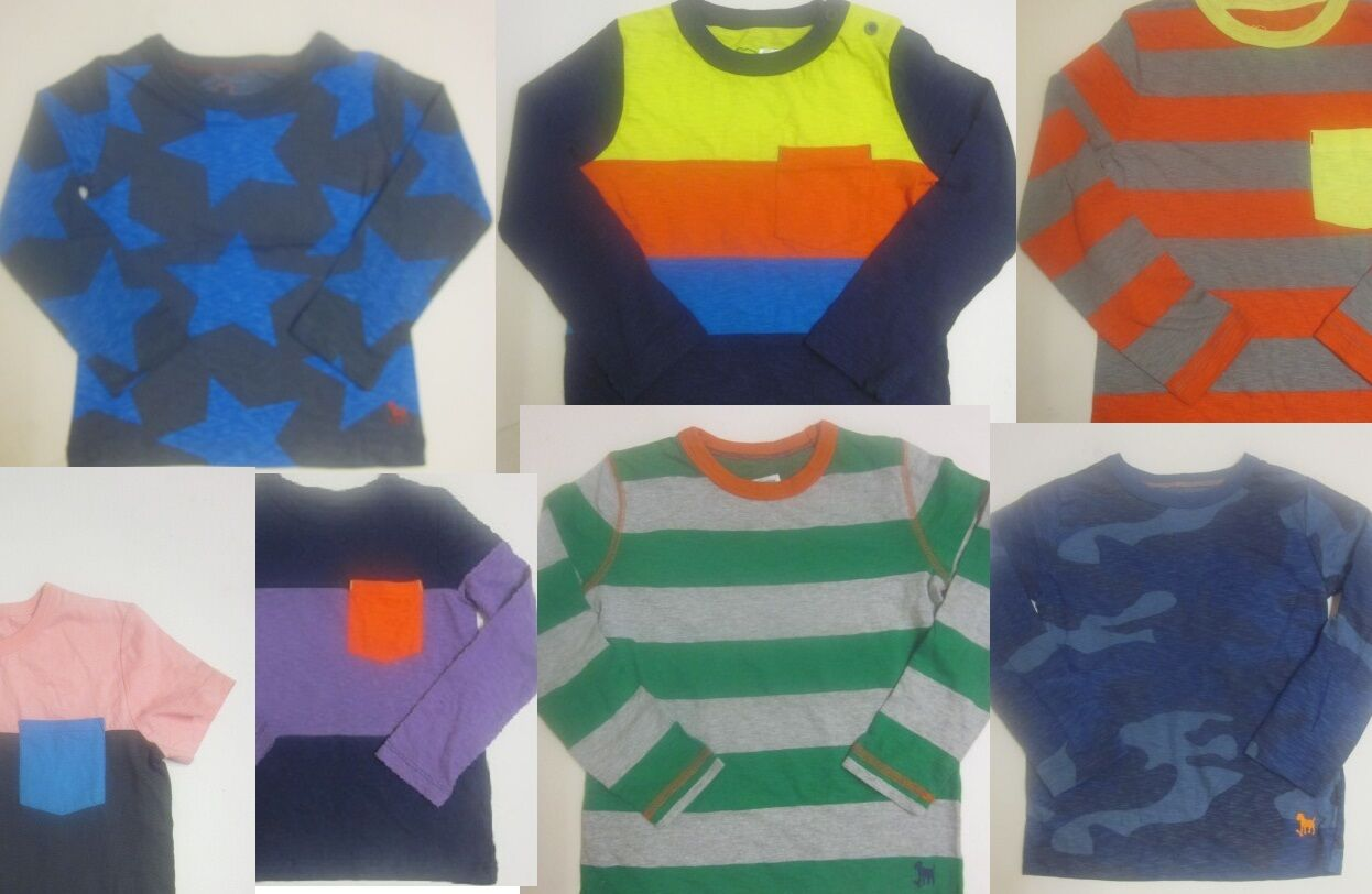 Boys top mini boden t shirt long sleeve baby 18 months 2 3 for Mini boden germany