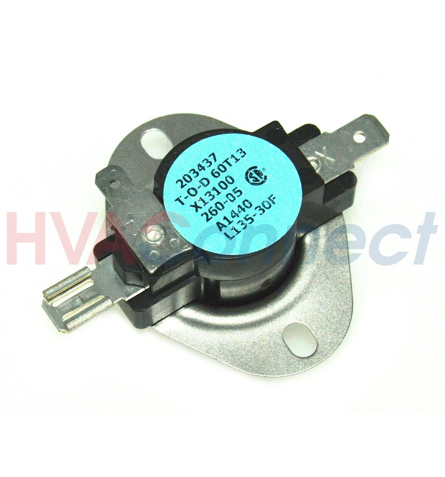 OEM TRANE AMERICAN Standard Furnace Disc Limit Switch L135-30F ...
