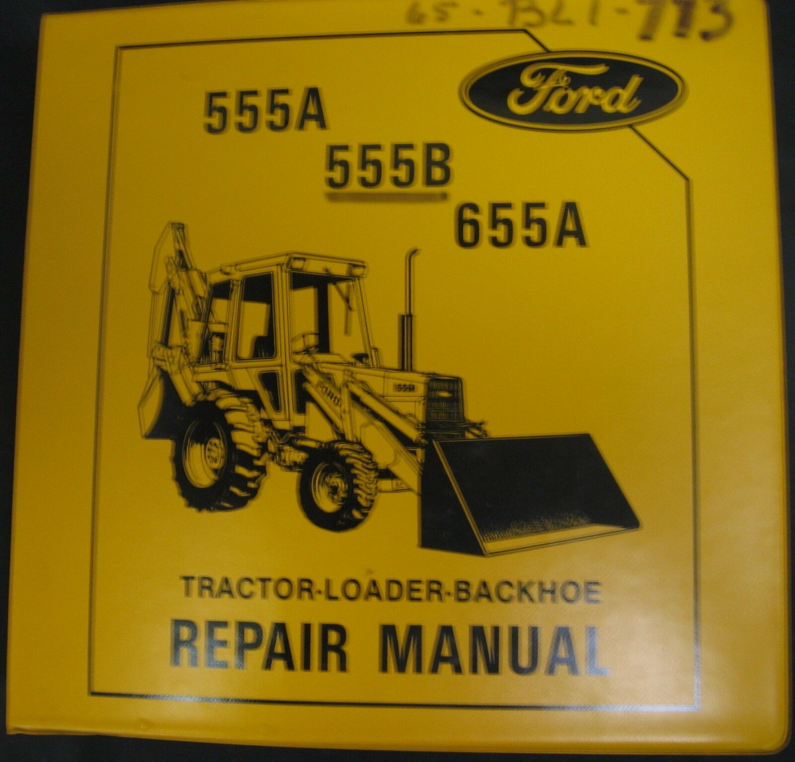 Ford 555A, 555B and 655A Tractor Loader Backhoe (TLB) Service Repair Manual  1 of 2Only 2 available ...