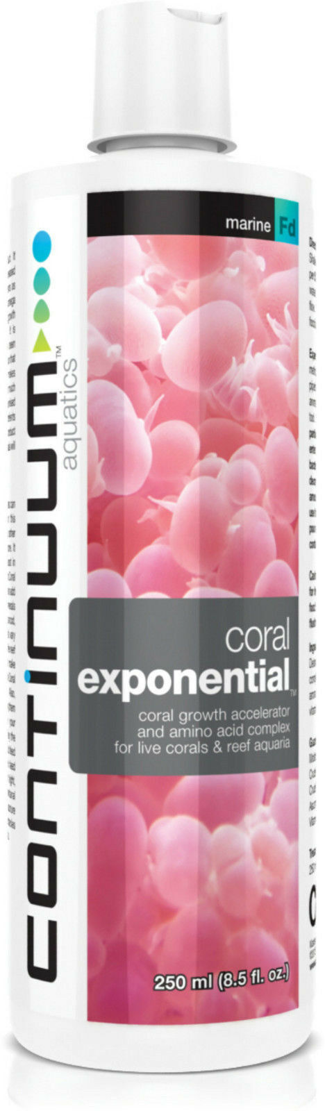 CONTINUUM CORAL GROWTH ACCELERATOR (For All Reef Aquaria) Protects and feeds
