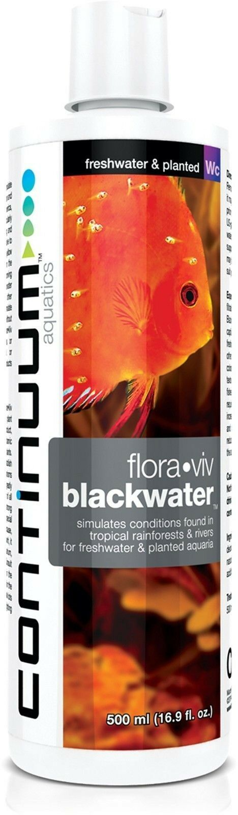 Continuum Blackwater For Freshwater & Planted Tanks