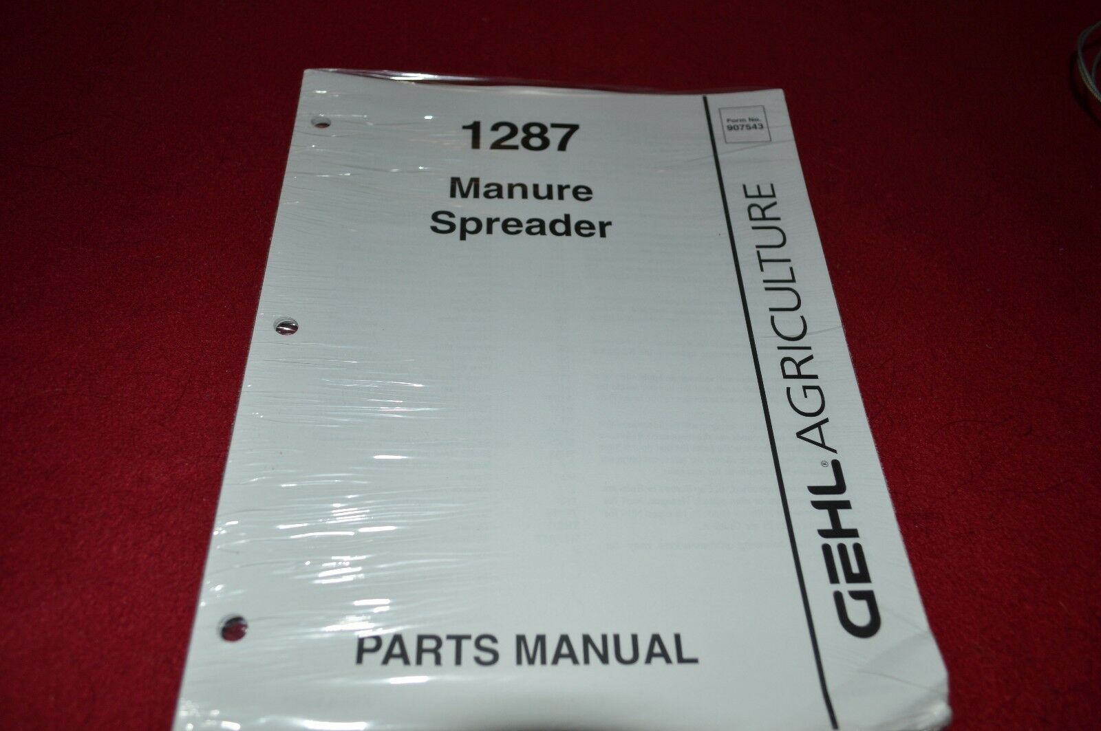 Gehl 1287 Manure Spreader Dealer's Parts Book Manual HVPA 1 of 1Only 1  available ...