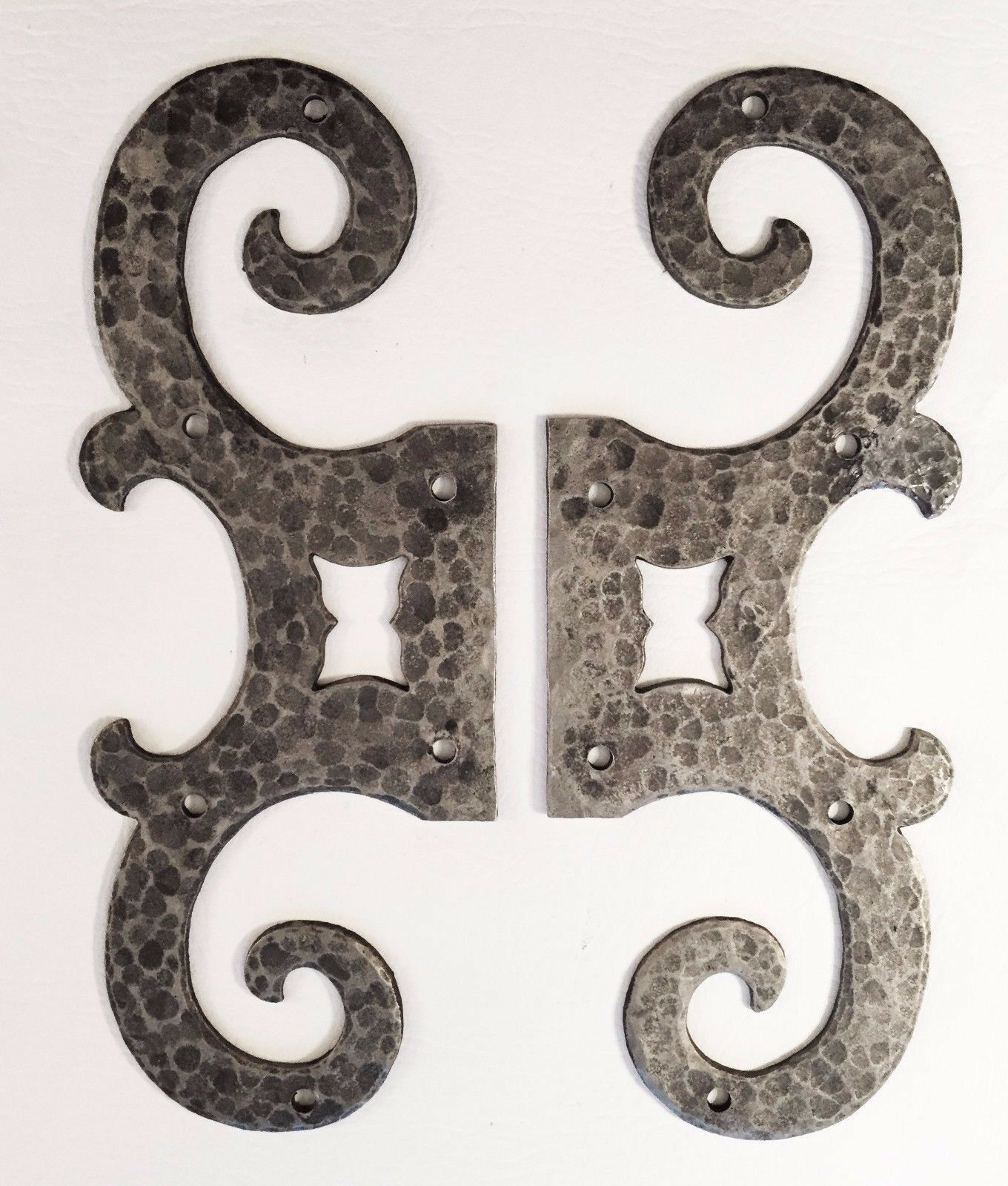 Iron Antique Hardware Vintage Scroll Decorative Door Cabinet Metal Mounts