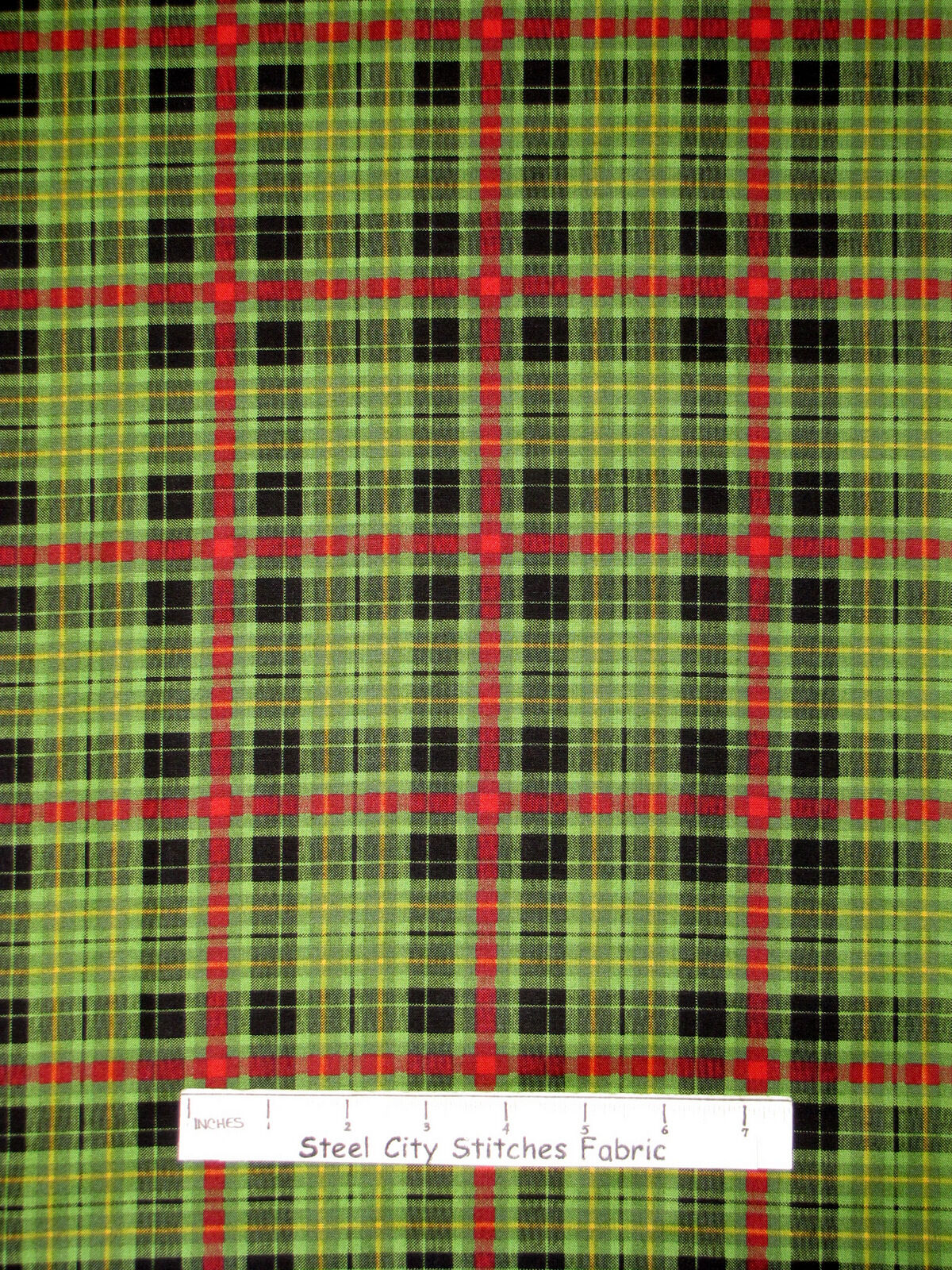 1 of 1 see more - Christmas Plaid Fabric