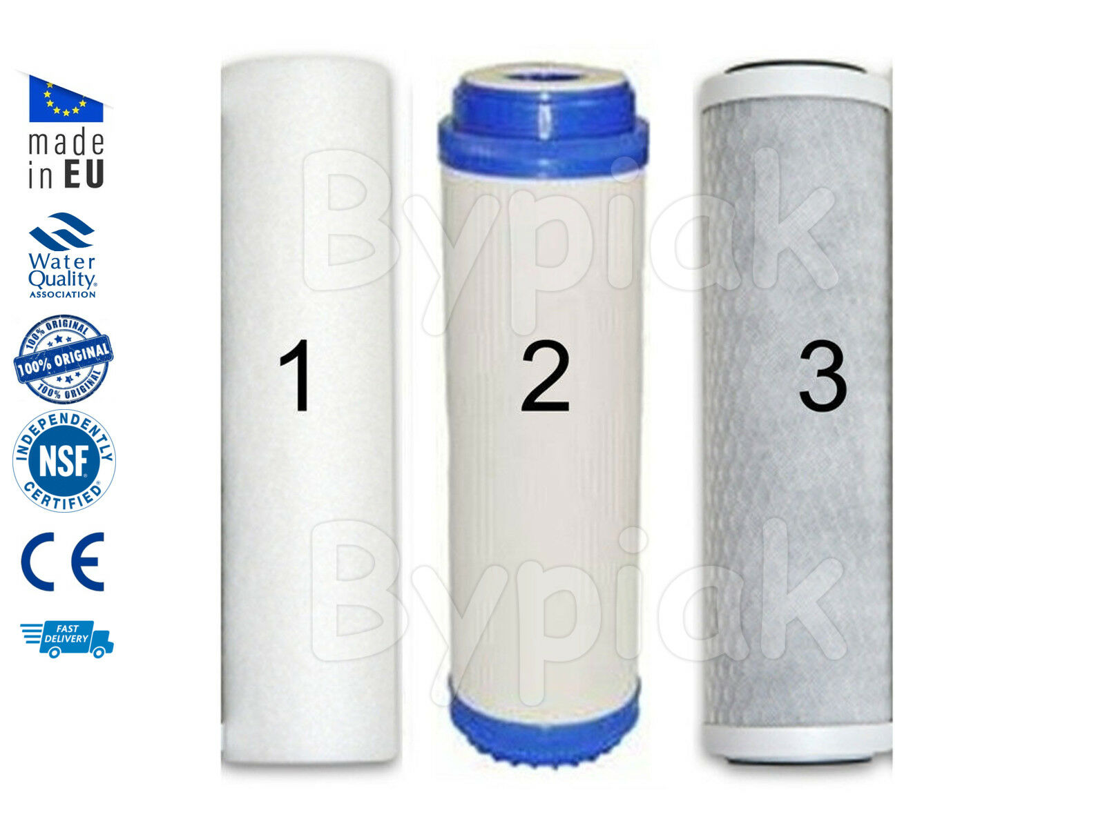 """Brand New Set of Tap Drinking Water Filter System Replacement 10"""""""