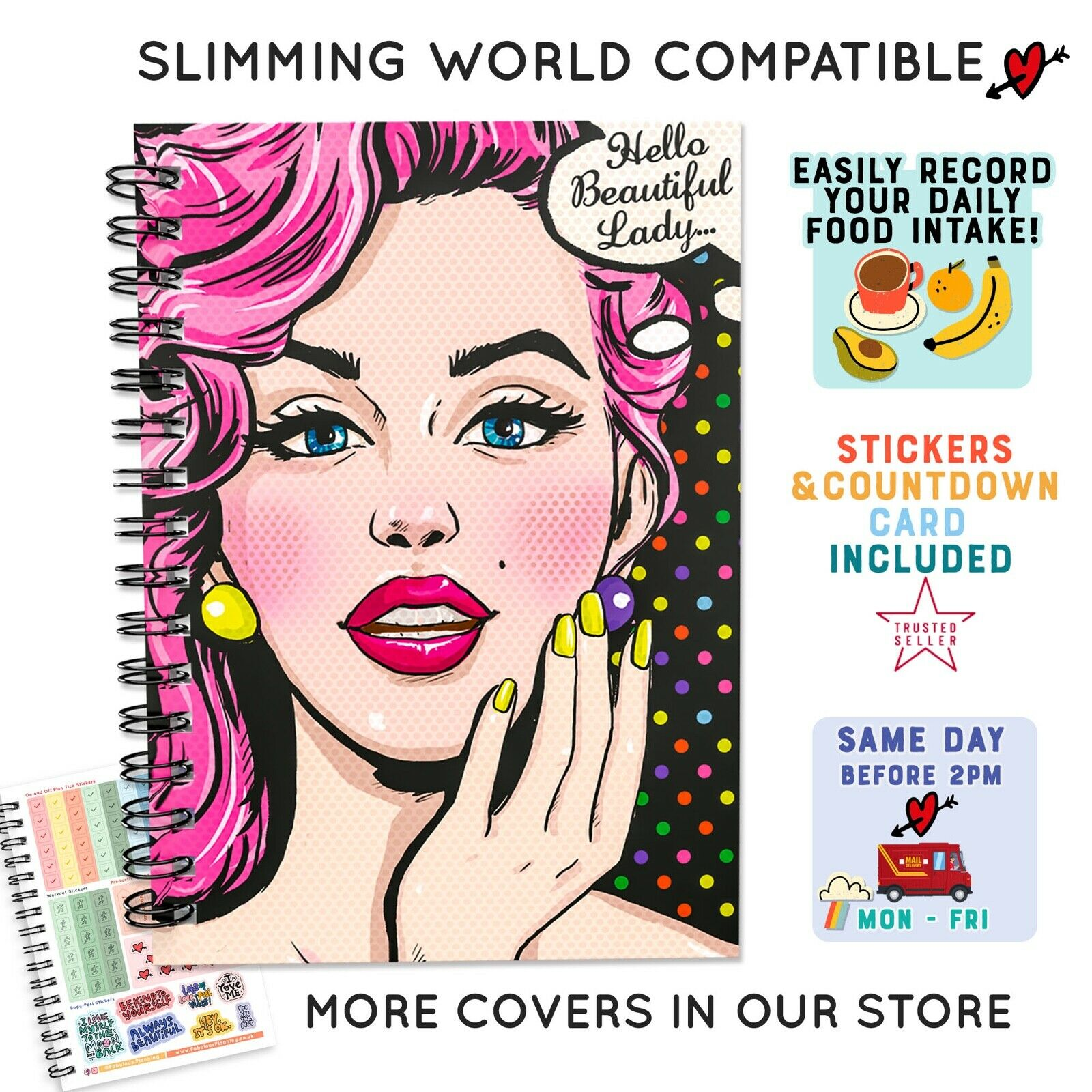 Food Diary Diet Slimming World Compatible Tracker