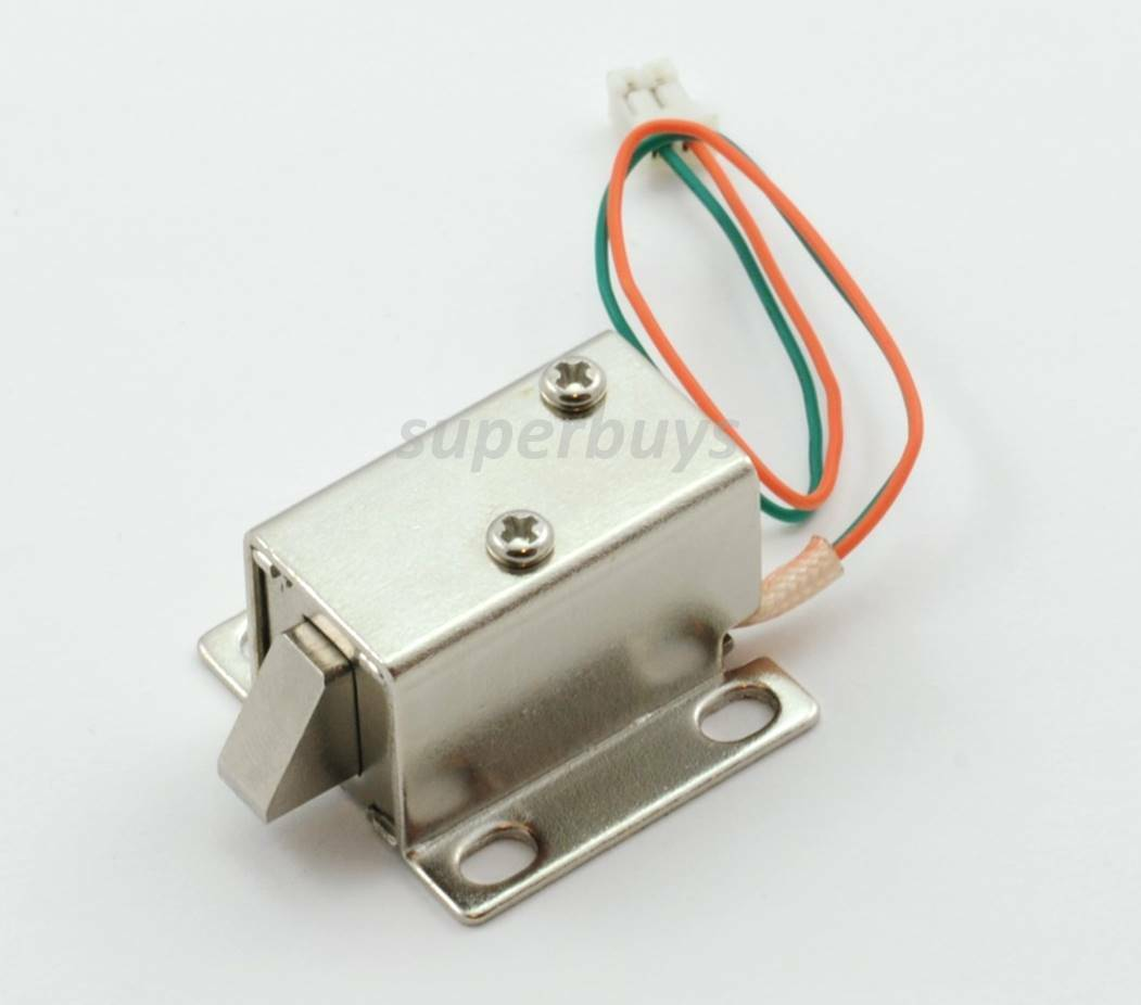 Electronic latch lock catch door 12v electro magnet for 12v door latch