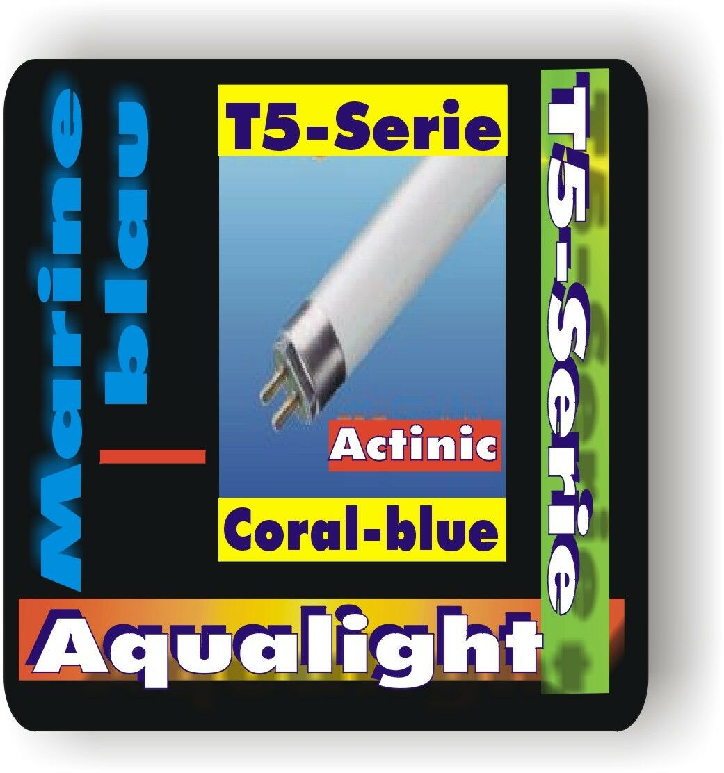 Aqualight Aquarium T5 Tube Au Néon Coral Bleu 4 Watt