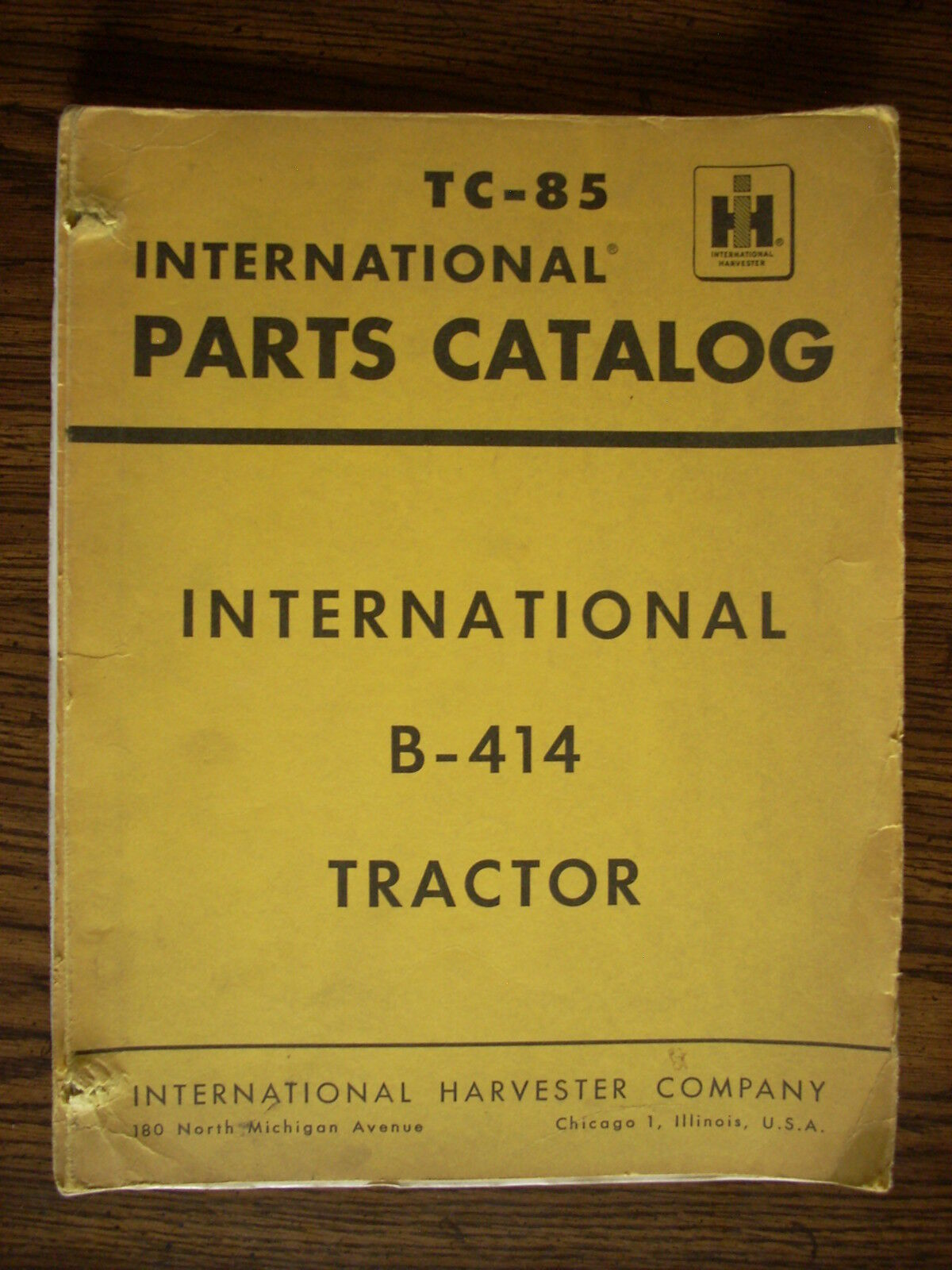 IH Farmall Mccormick International B414 Parts Manual 1 of 1Only 1 available  ...