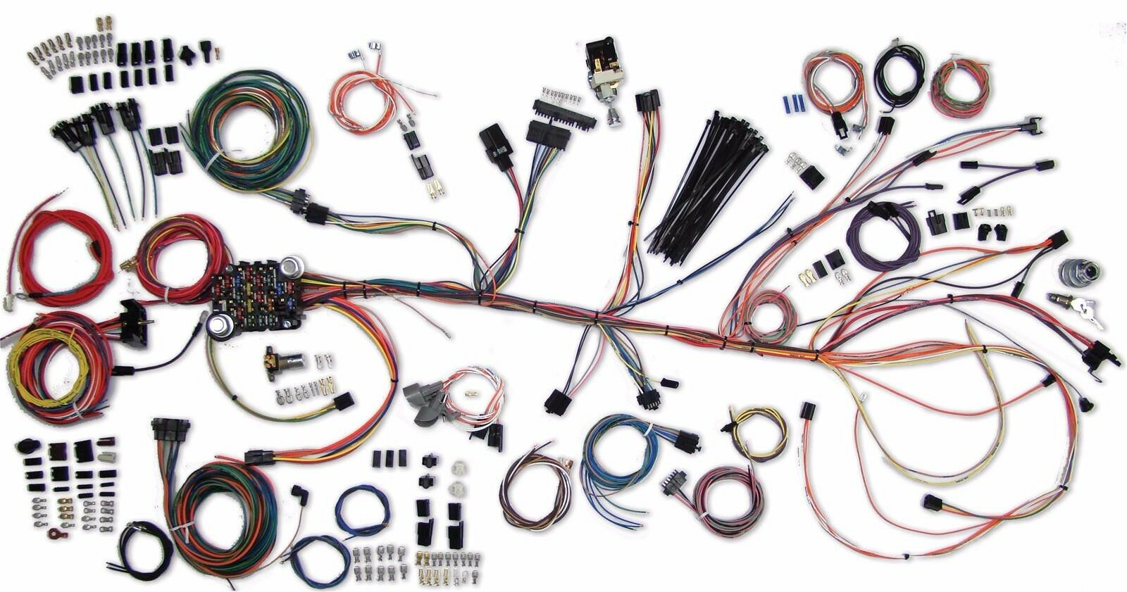 American Autowire Wiring Harness Library 68 Chevelle Diagram 64 67 Malibu Ss Classic Update 500981 1 Of