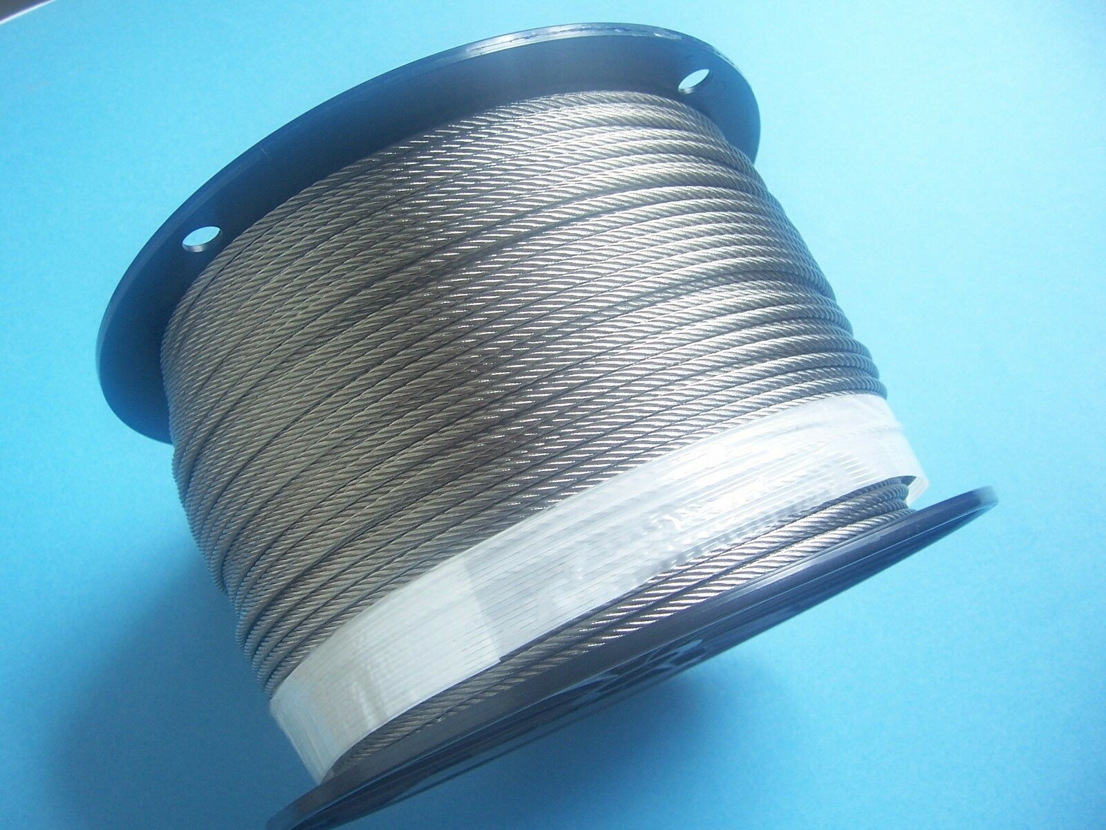 TYPE 316 STAINLESS Steel Wire Rope Cable, 1/8\