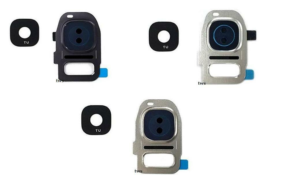 CAMERA FRAME GLASS Lens Cover Replacement For Samsung Galaxy S7 Edge ...