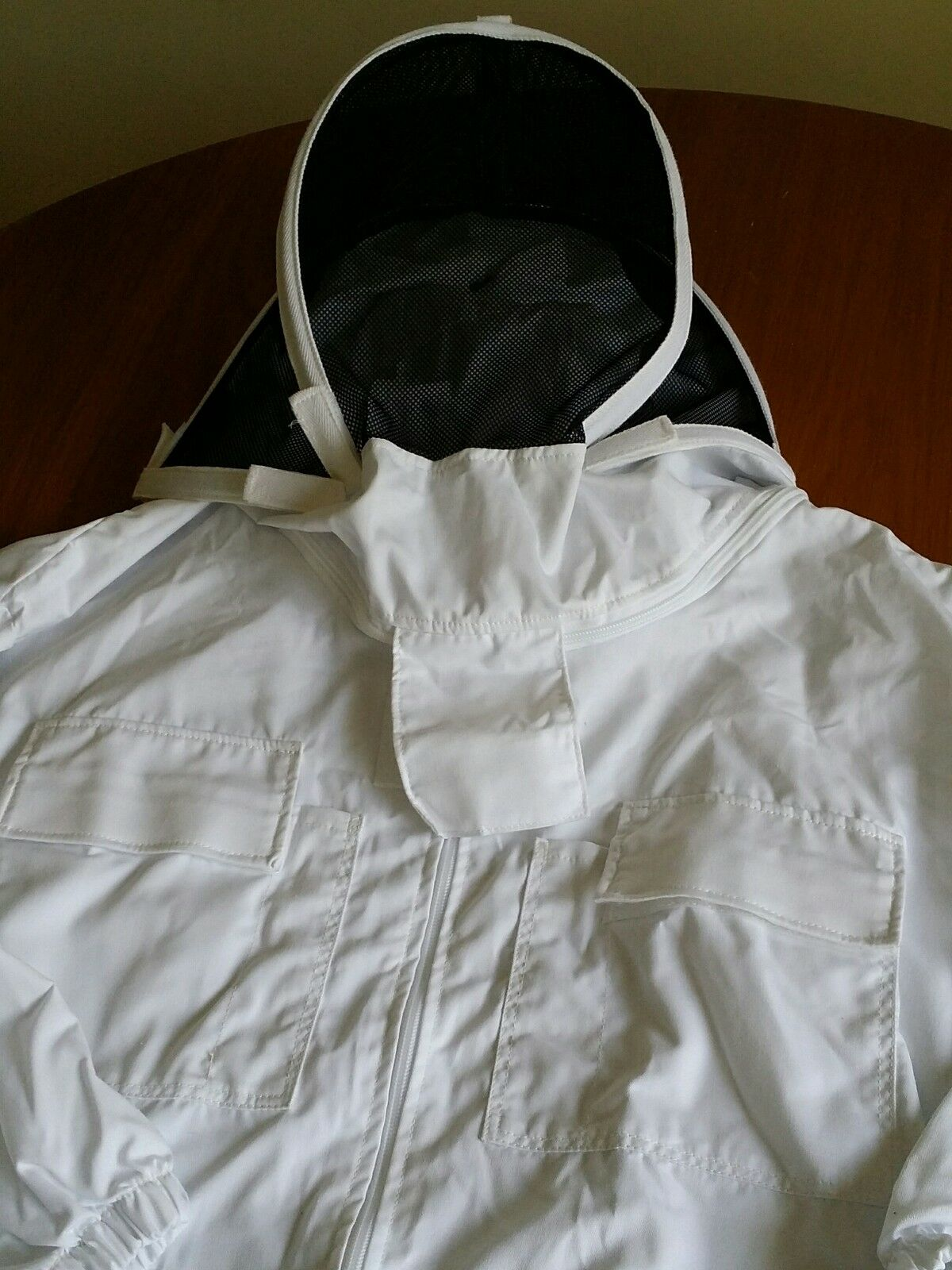 British Made Quality Bee Suit Cotton Beekeeping Fencing Veil