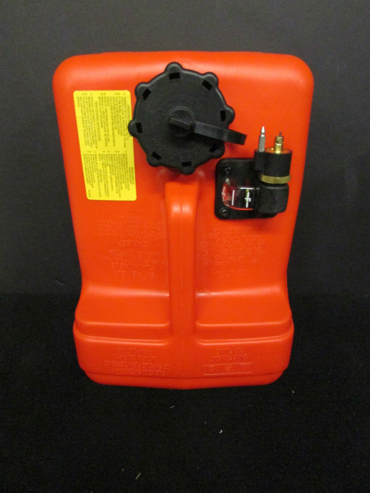 Yamaha outboard motor fuel tank 12 liter 3 gallons plastic for Gas tanks for outboard motors
