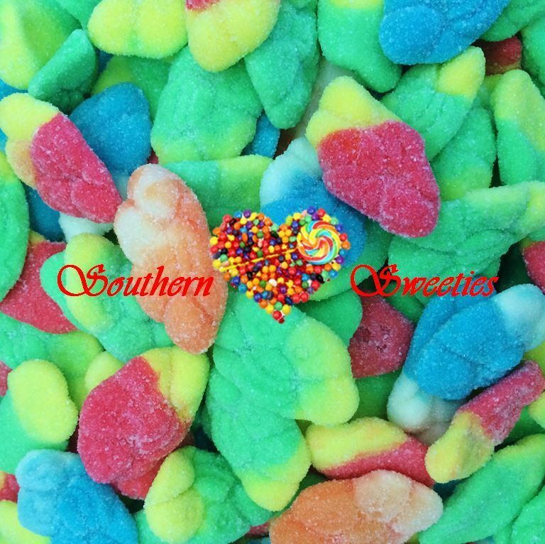 Colourful Storms Rainbow Multicolor Colourful Lollies 1.4Kg 350Ct Gluten Free