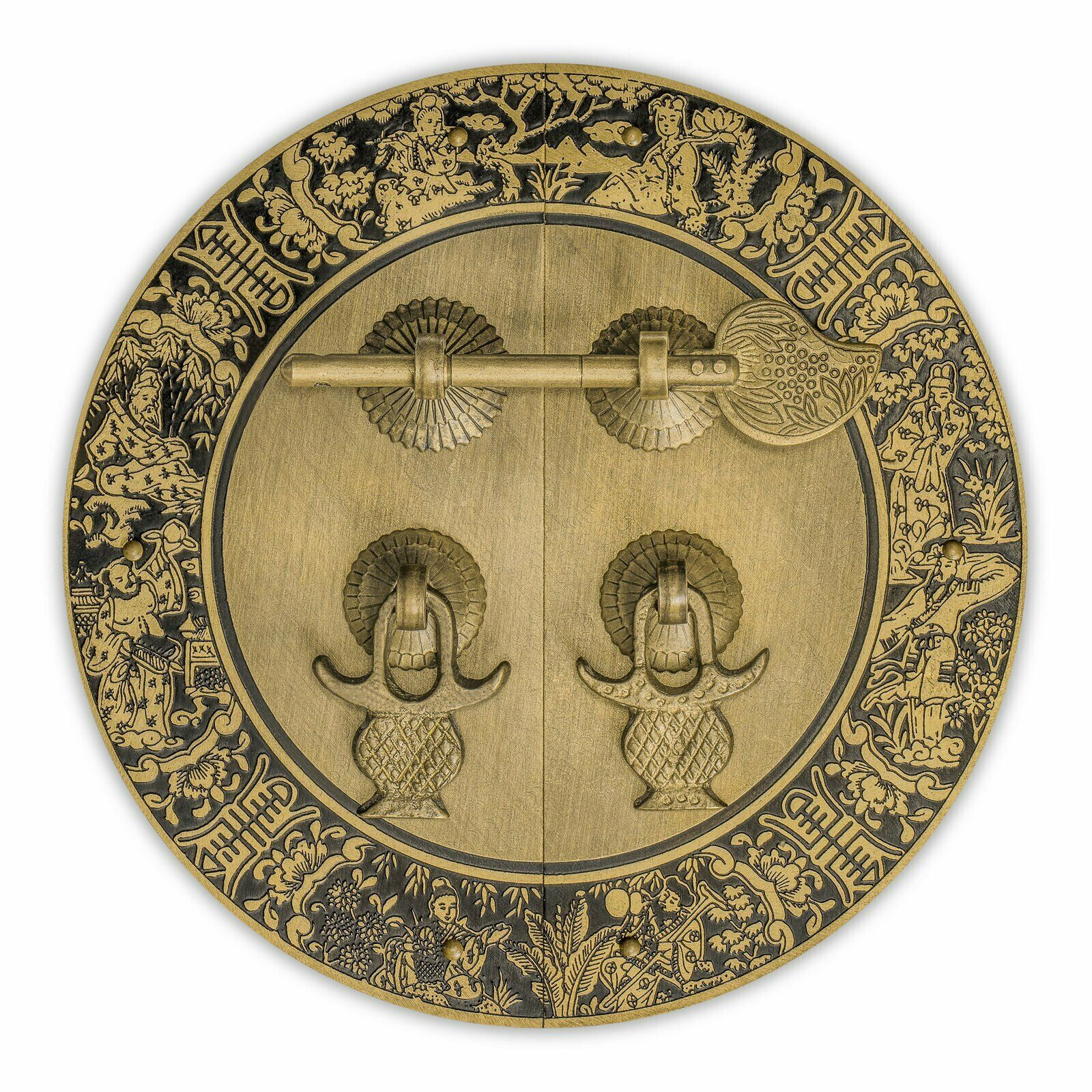 """Blessings for Long Life Cabinet Face Plate 5-1/2"""""""