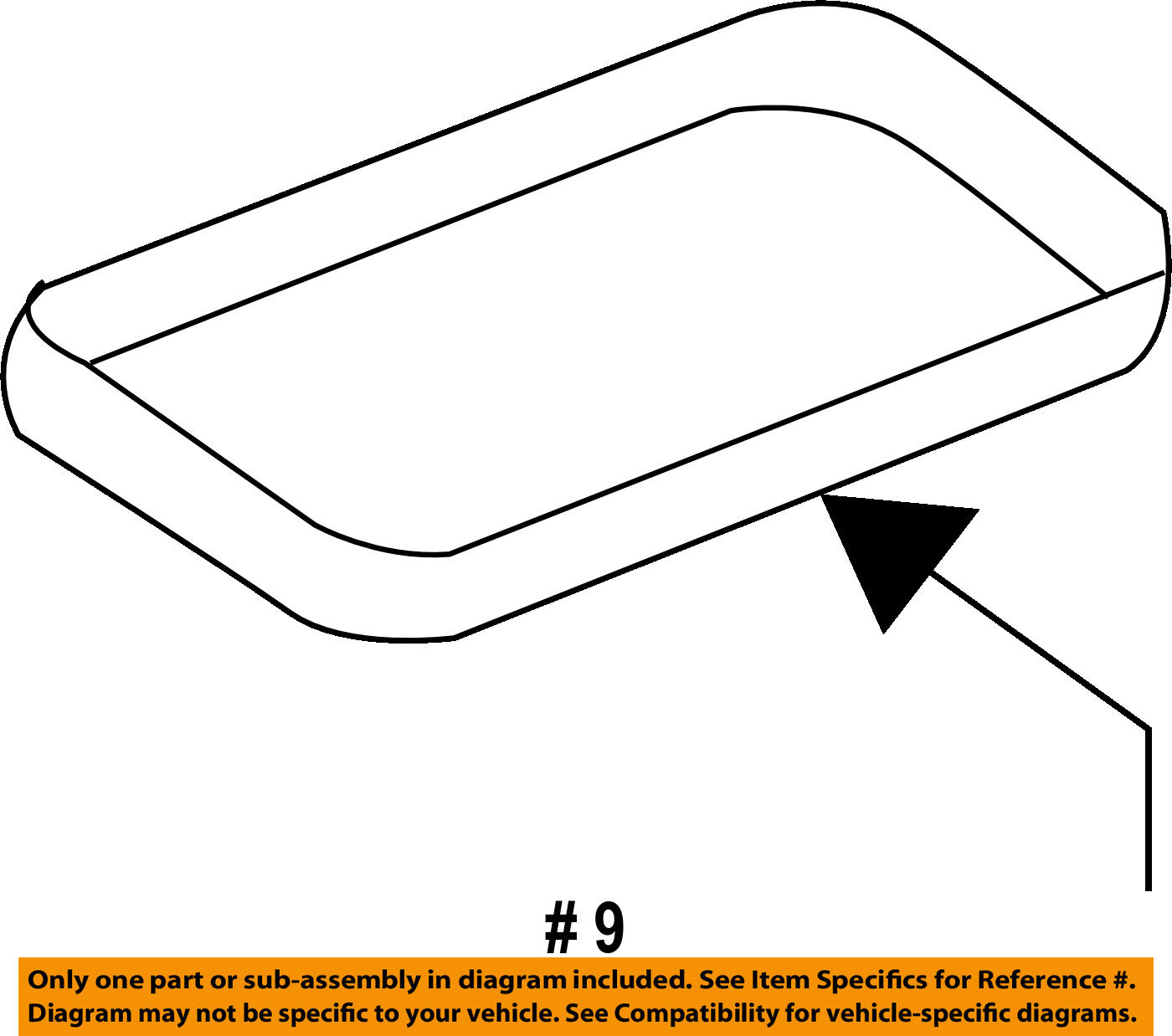 Ford Oem Engine Intake Manifold Gasket Aa5z9439a 1864 Picclick With Diagram 1 Of 2free Shipping