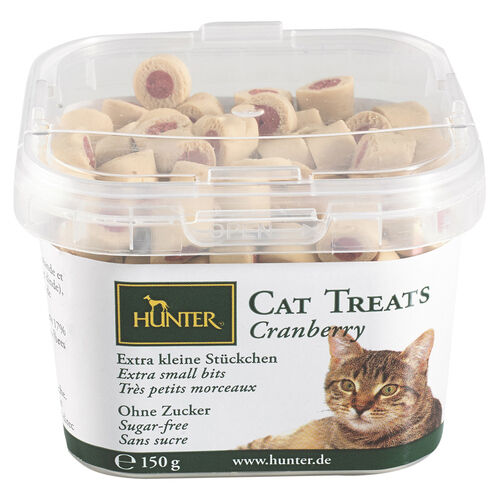 Hunter Snack pour chats Chat Treats - Cranberry 150 g, NEUF
