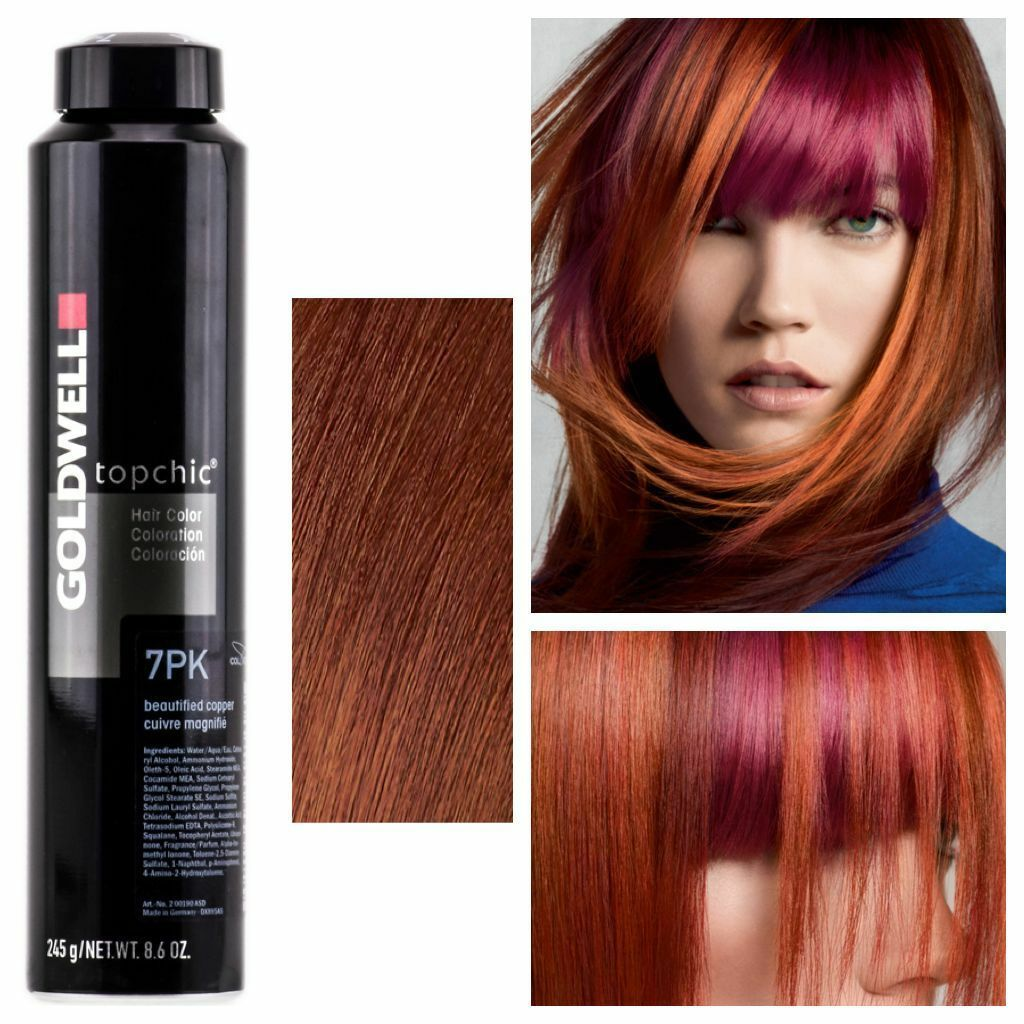 Goldwell 8bkp Topchic Hair Color Can Canister 86 Oz 245g 8 Bkp