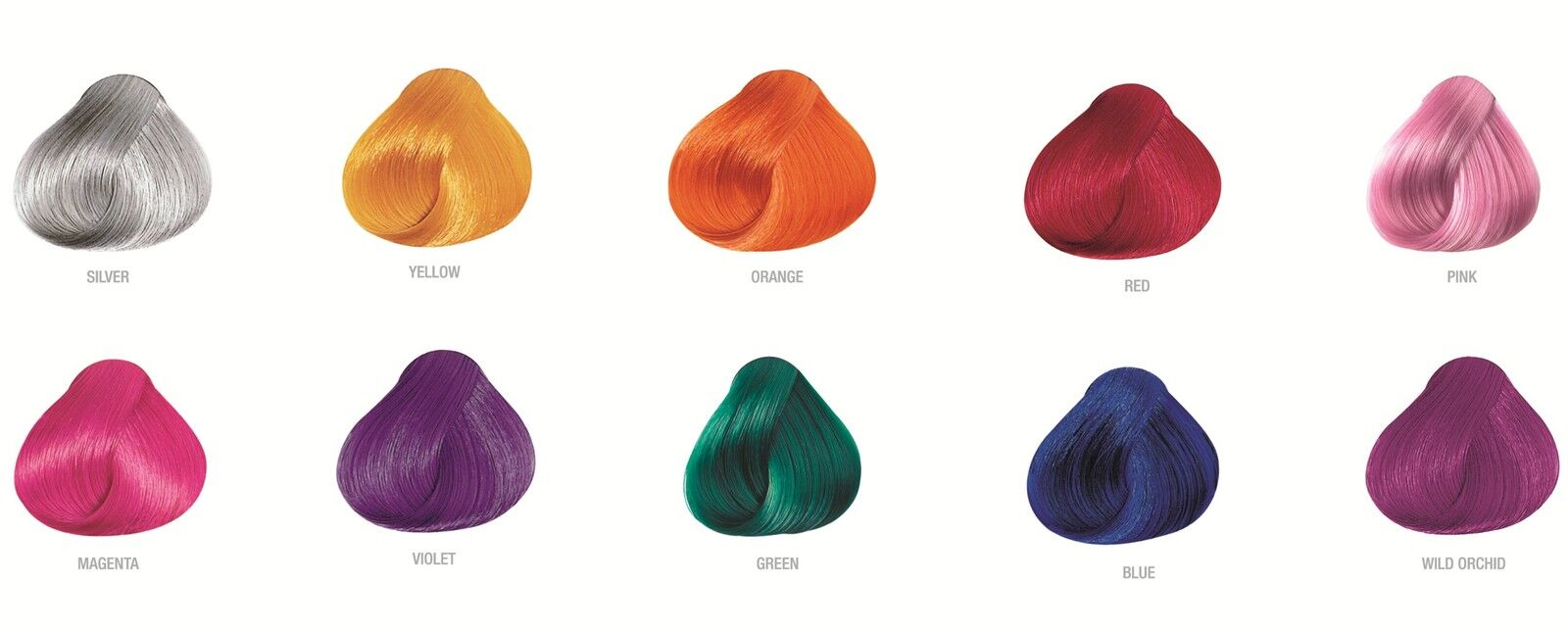 Pravana Chroma Silk Vivids Demi Permanent Hair Dye All Colors