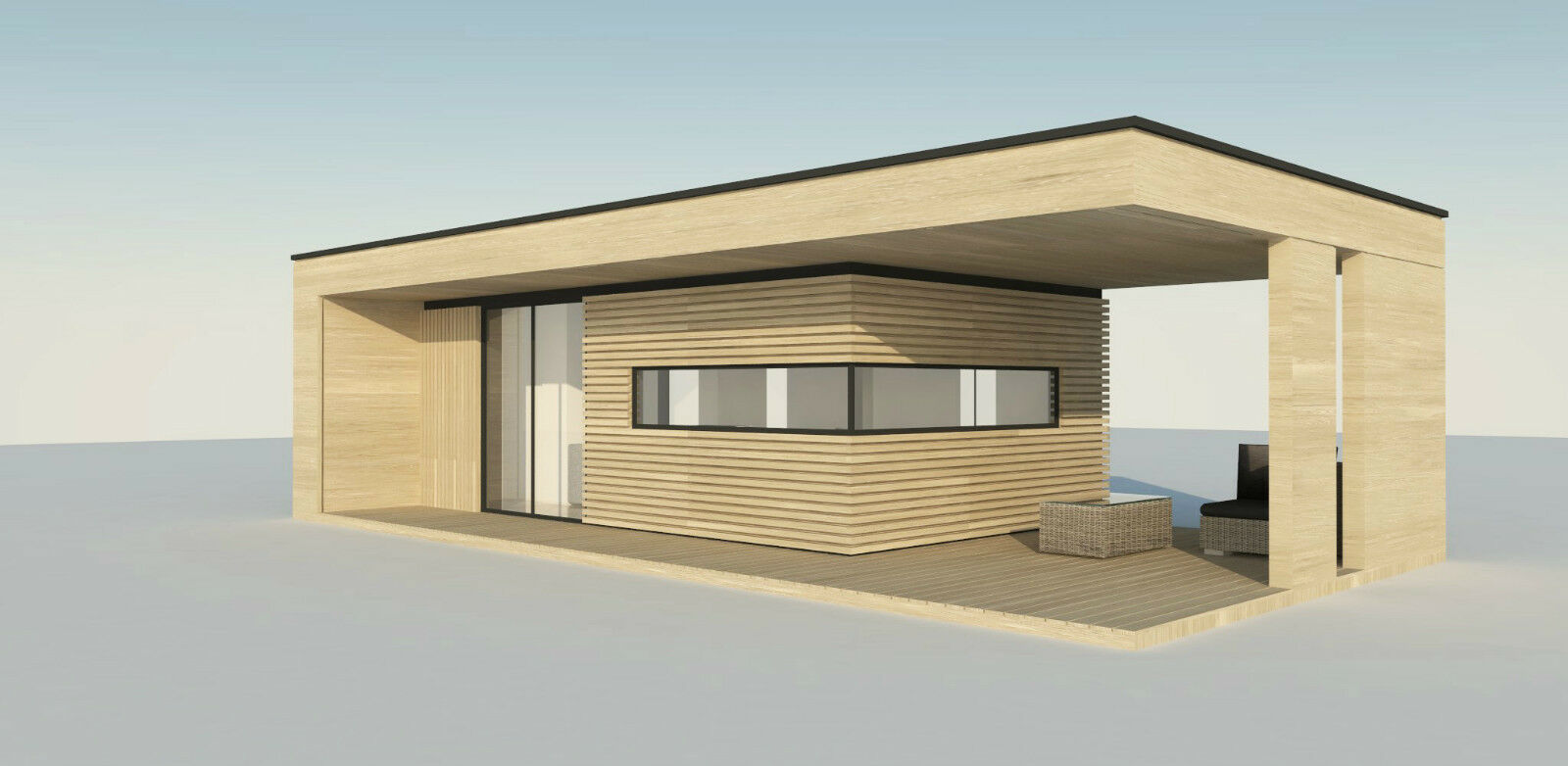 Prefab Homes Sip Panel House Modern 20 M2 20