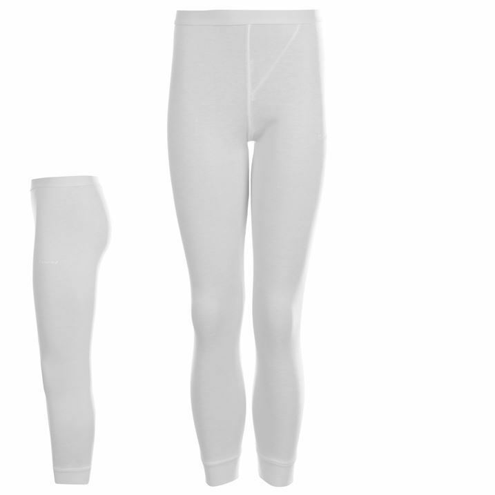 4 X Bnwt Joblot Girls Thermal Base Layer Campri Tights White Ages 5-6 Year