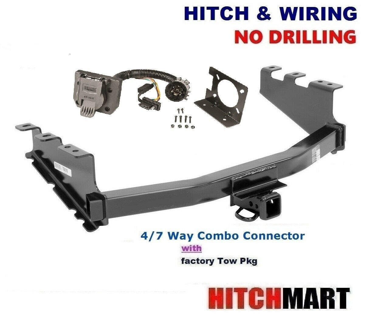Trailer Hitch Wiring For 14 17 Chevy Silverado 1500 Sierra Pickup 76016 1 Of 4only 5 Available