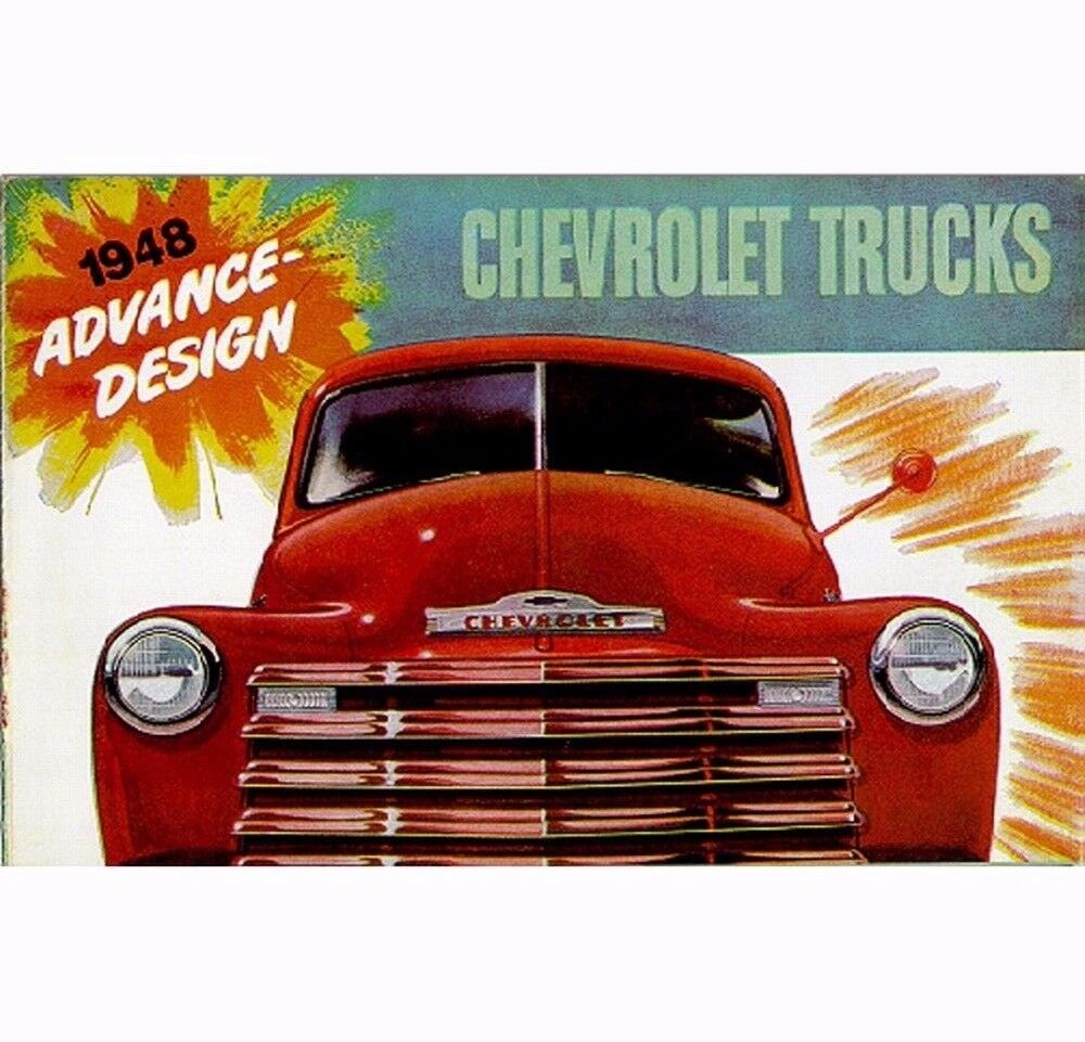 1948 Chevy Truck Sales Brochure 1 of 1Only 1 available ...