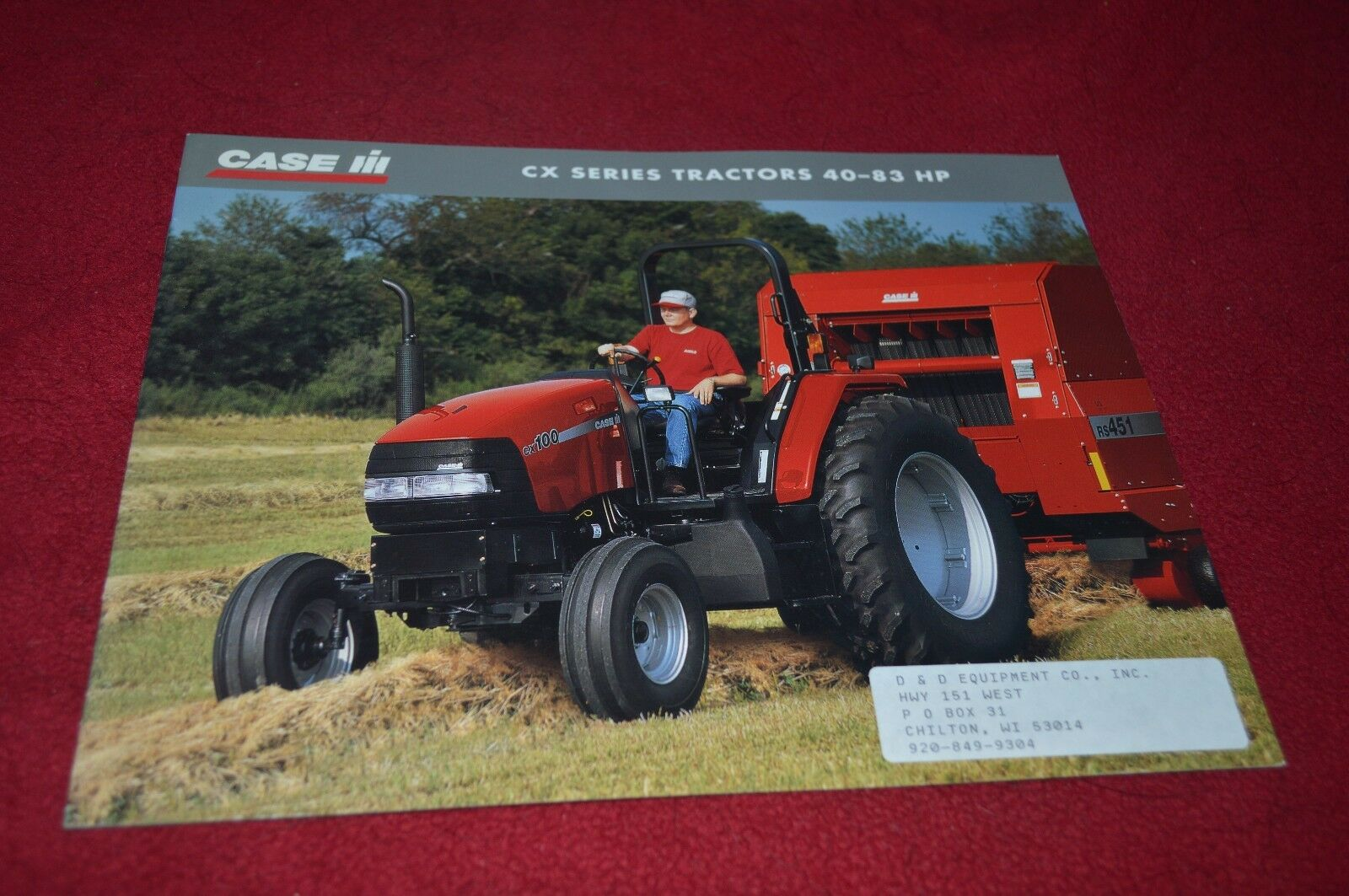 Case International CX50 CX60 CX70 CX80 CX100 Tractor Dealer's Brochure  YABE10 1 of 1Only 1 available ...
