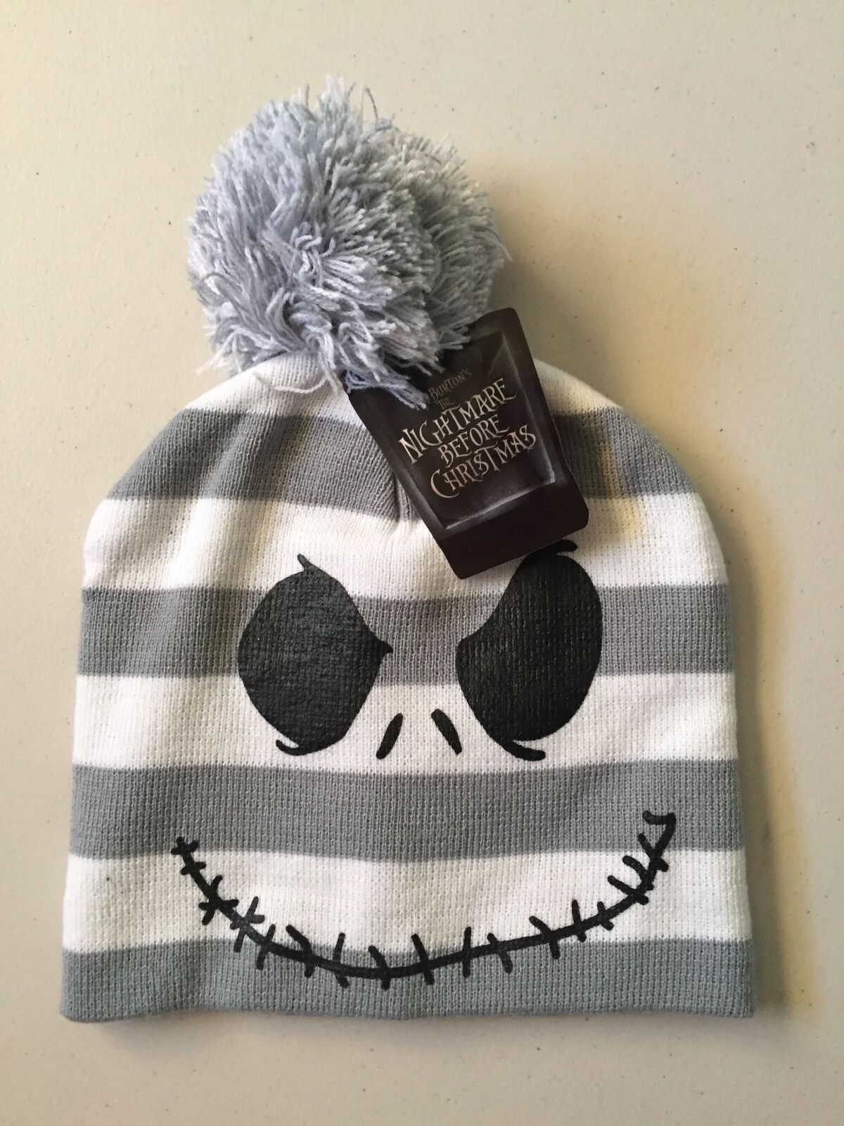 disney nightmare before christmas beanie hat osfm jack skellington 1 of 2only 1 available