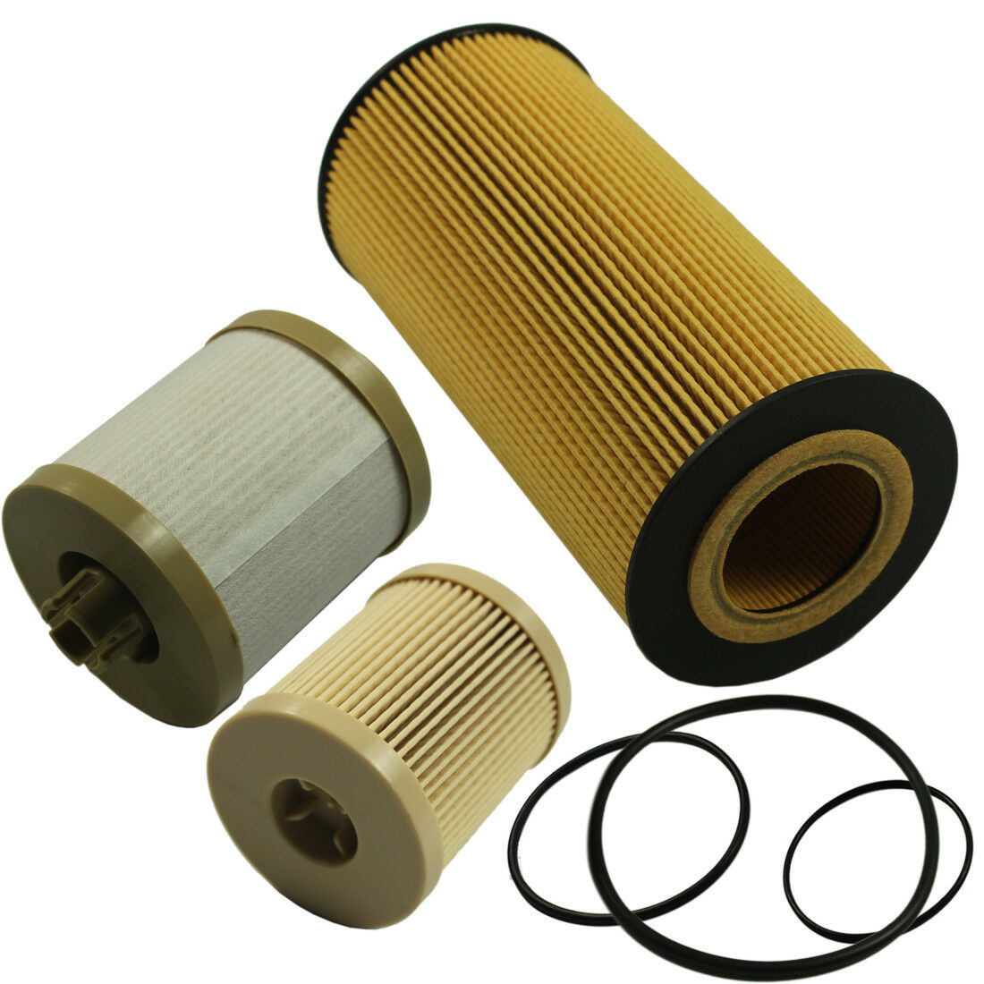 Oil Fuel Filter Kit For Ford Diesel 60 Powerstroke Turbo 2003 6 0 Filters 1 Of 6free Shipping
